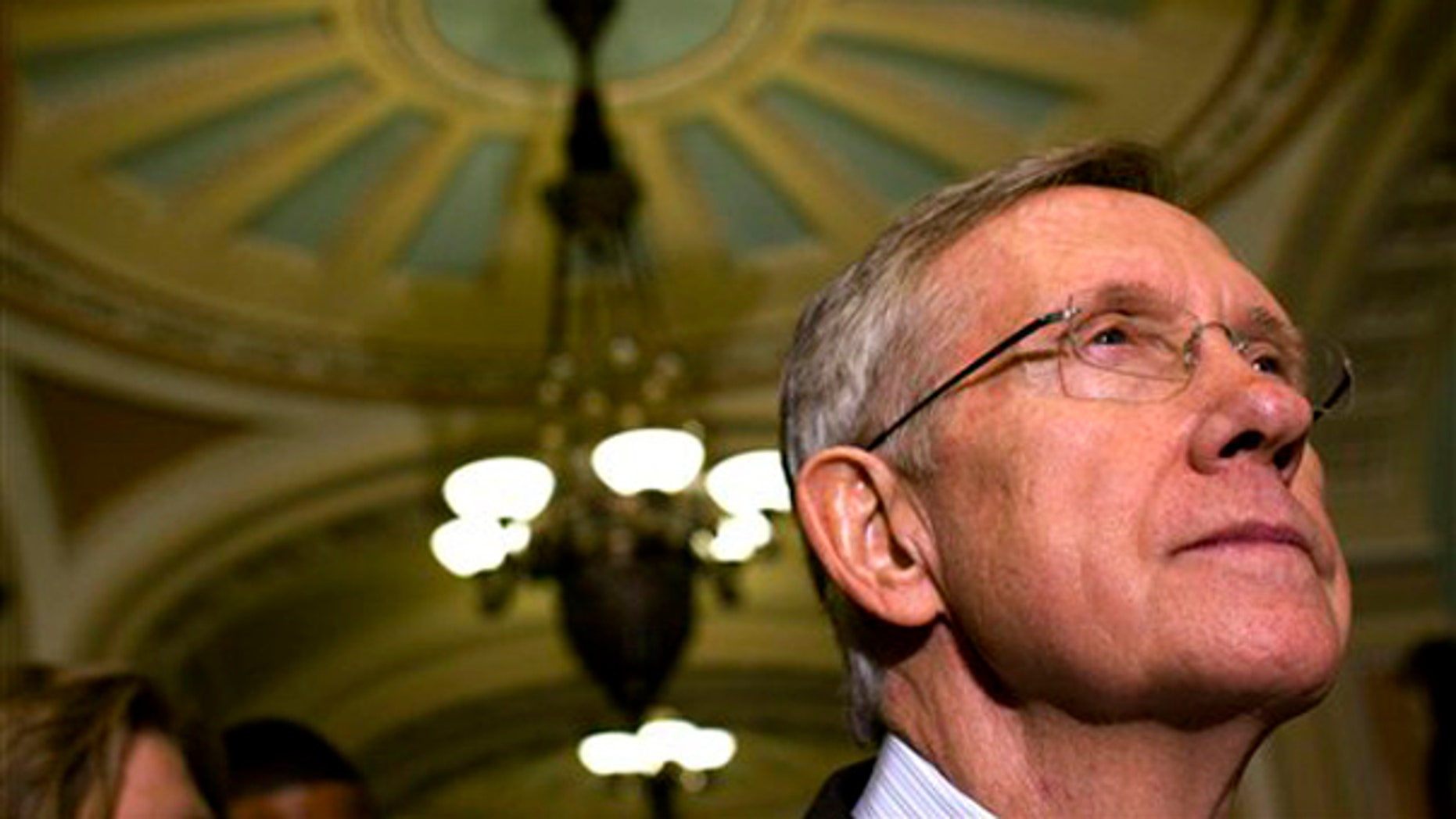Senate Majority Leader Harry Reid is seen on Capitol Hill in Washington Nov. 3. (AP)