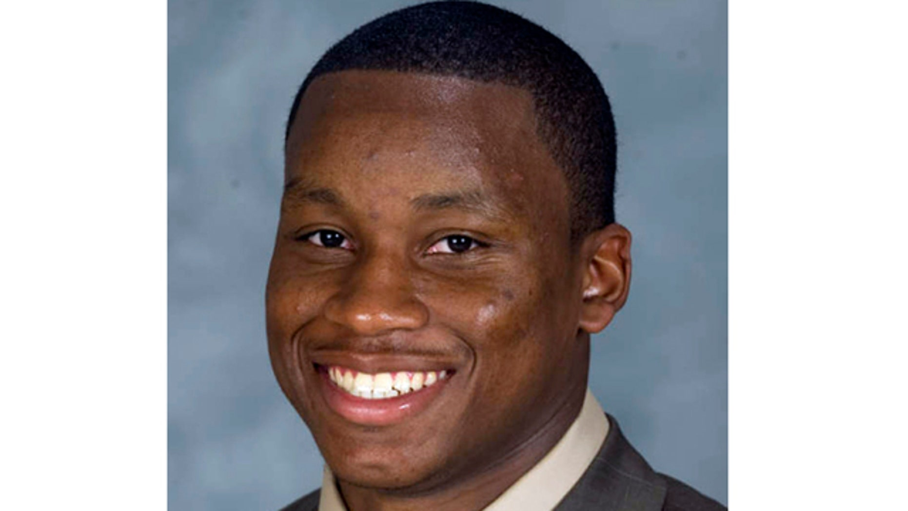 This photo released by Mississippi State Athletics shows Nick Bell.