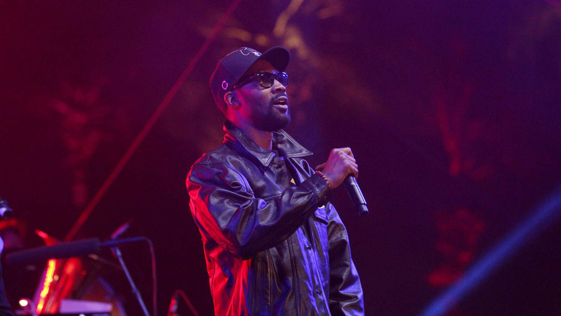 April 14, 2013: RZA of the Wu-Tang Clan performs during the Coachella Music Festival in Indio, California.