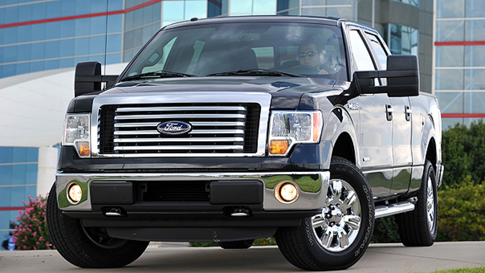 Spet. 22: This photo provided by the Ford Motor Co. shows the 2011 Ford F-150 Pick-up truck. Trucks outsold cars in October by the widest margin since 2007.