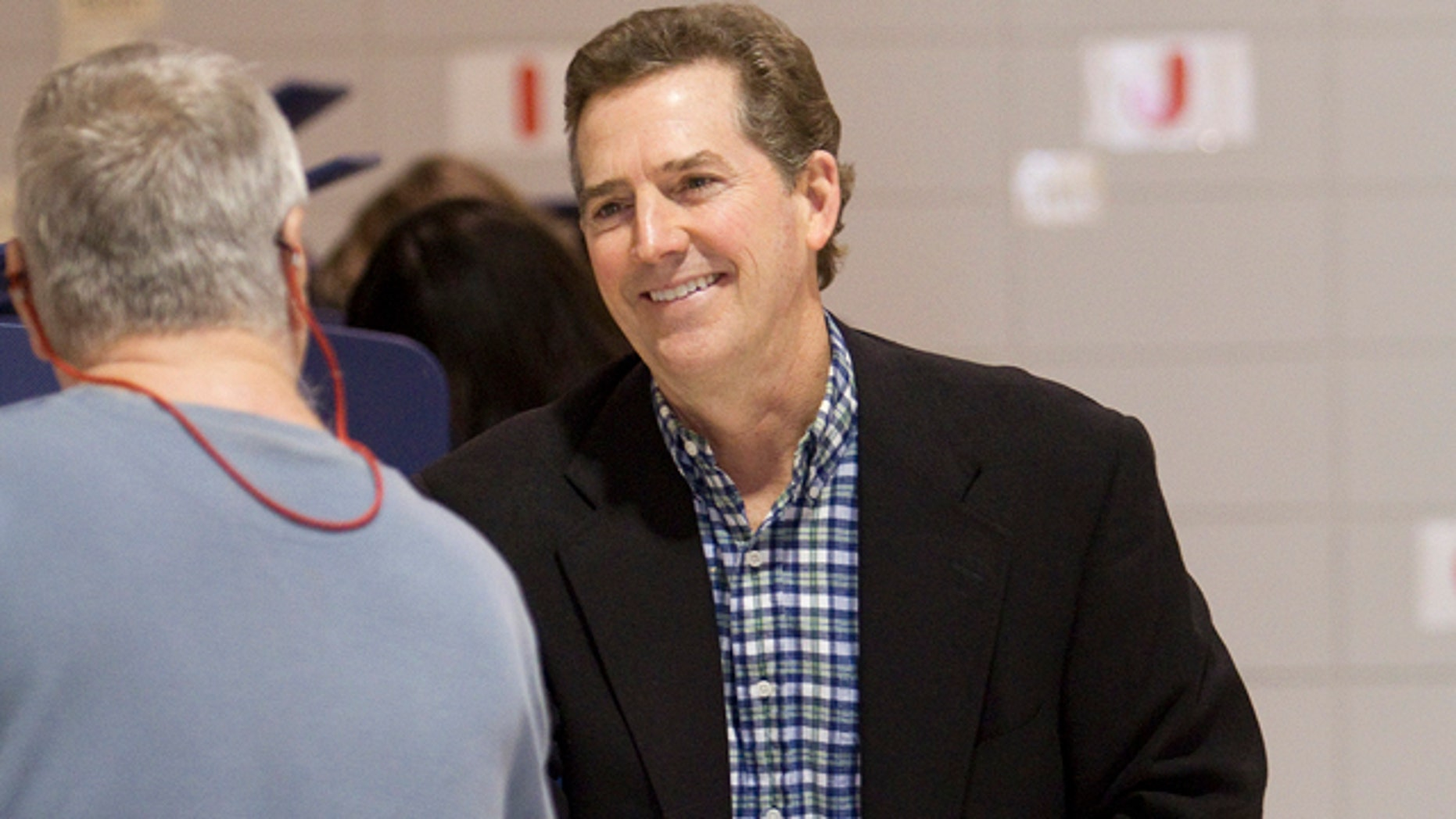 FILE: Sen. Jim DeMint waits to cast his vote at Mitchell Road Elementary School in Greenville, S.C., on Nov. 2.