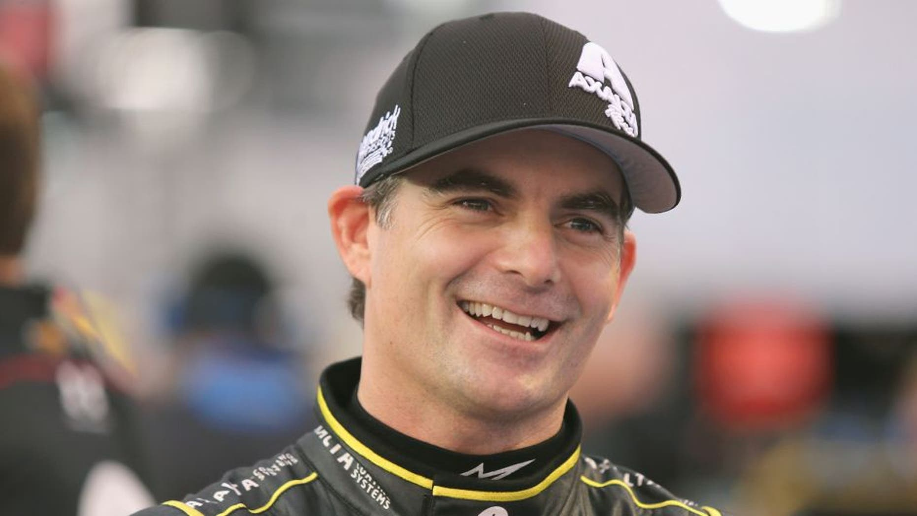 Jeff Gordon, driver of the #24 Axalta Chevrolet, looks on during Service King qualifying for the NASCAR Sprint Cup Series AAA Texas 500 at Texas Motor Speedway on November 6, 2015 in Fort Worth, Texas. (Photo by Jerry Markland/Getty Images for Texas Motor Speedway)