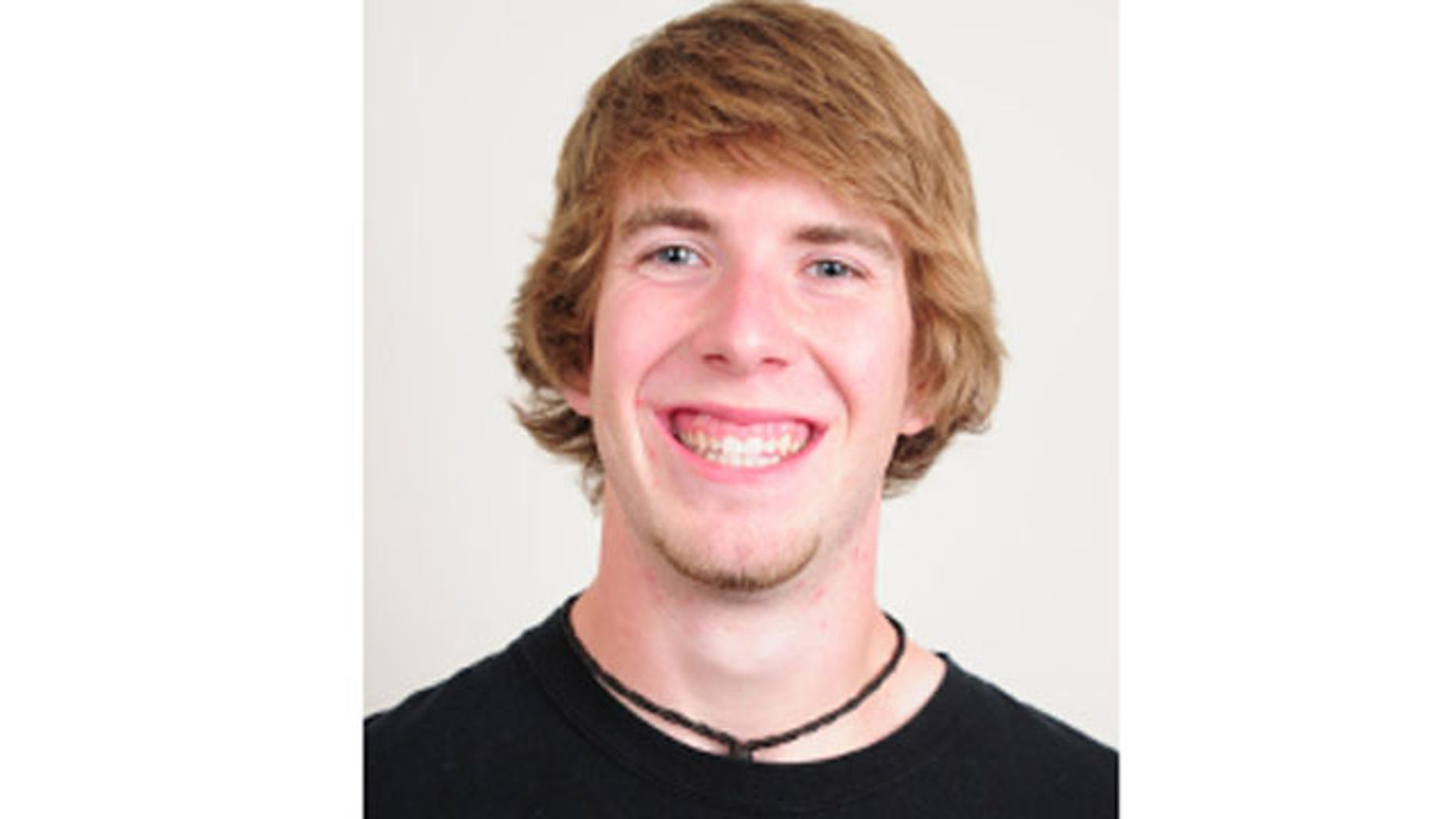 This photo provided by The Notre Dame Observer shows Declan Sullivan. Sullivan, a 20-year-old junior from Long Grove, Ill.