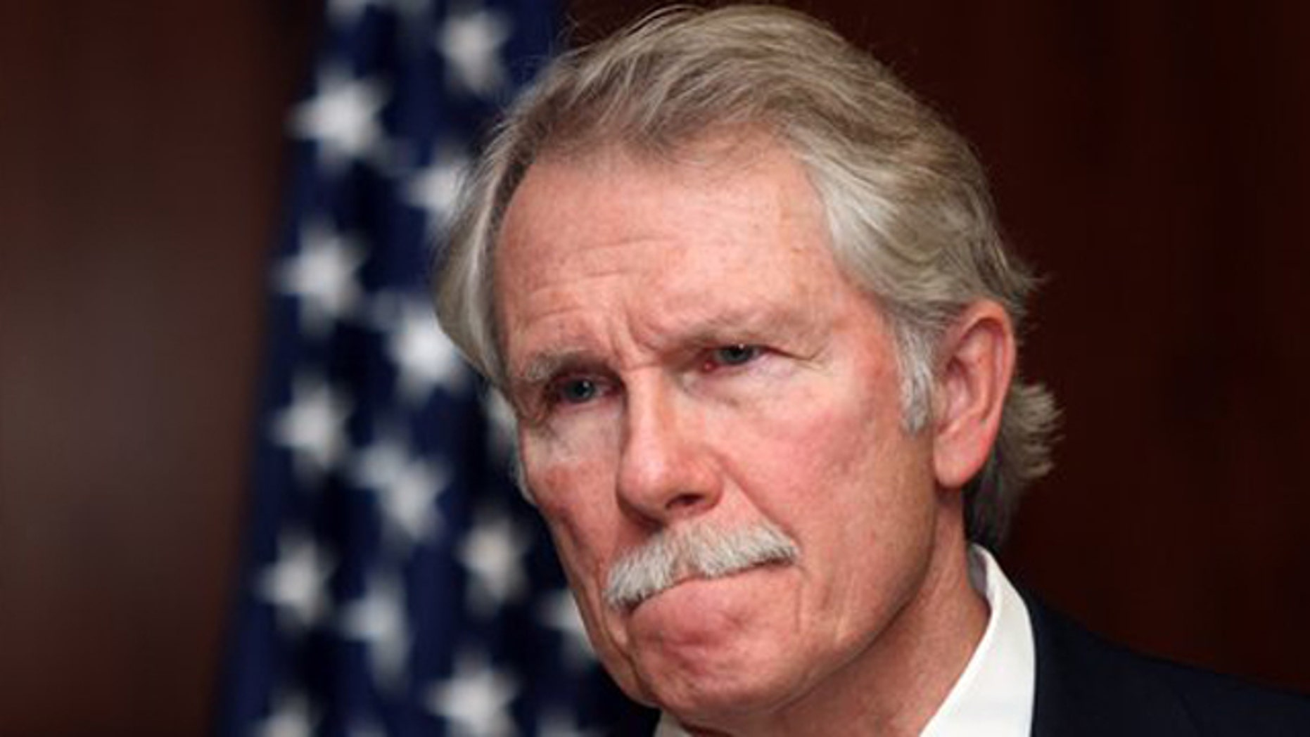 November 22, 2011: Oregon Gov. John Kitzhaber pauses while speaking in Salem, Ore.