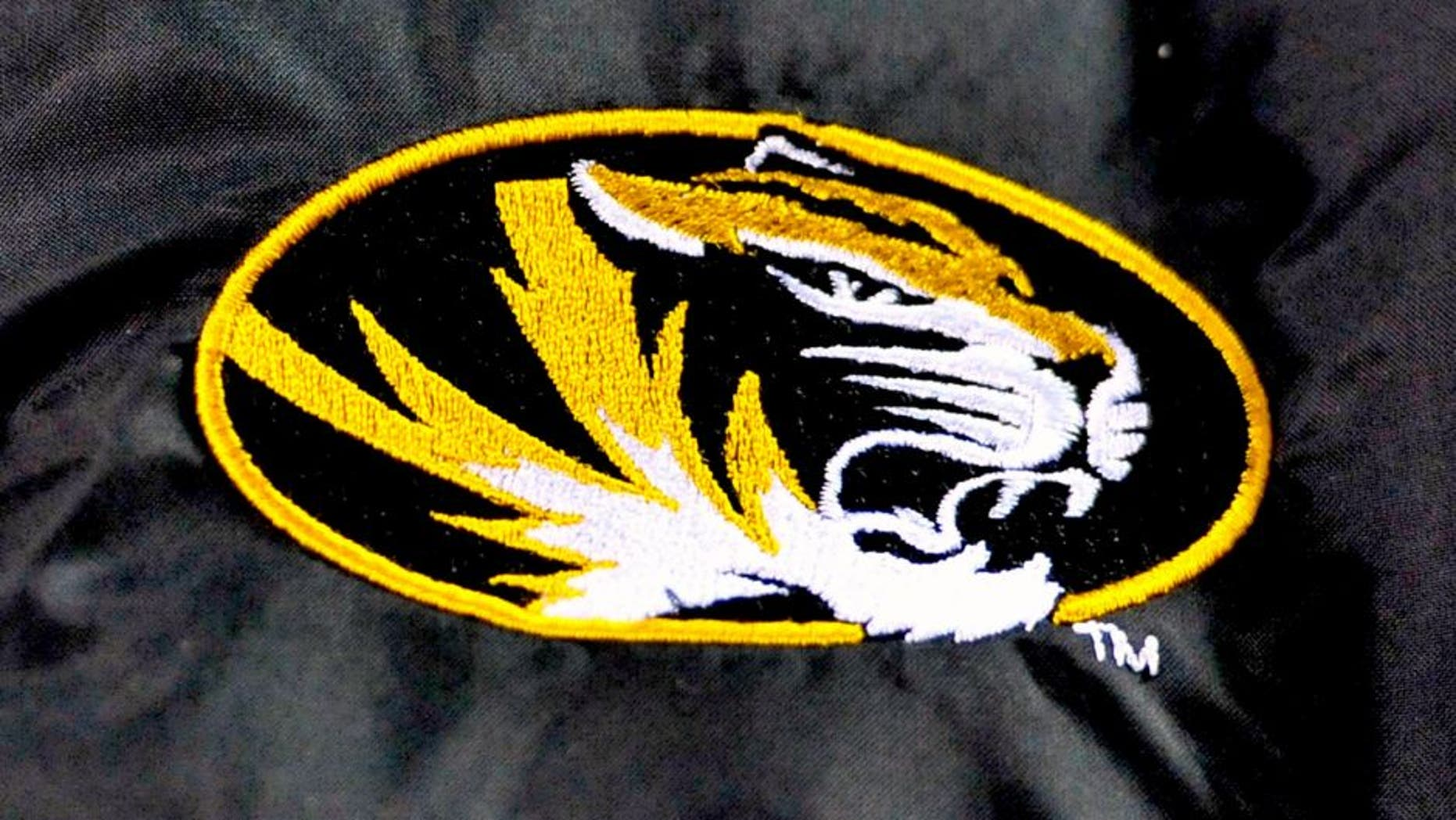 Nov 22, 2014; Knoxville, TN, USA; Missouri Tigers logo during the second half against the Tennessee Volunteers at Neyland Stadium. Missouri won 29-21. Mandatory Credit: Jim Brown-USA TODAY Sports