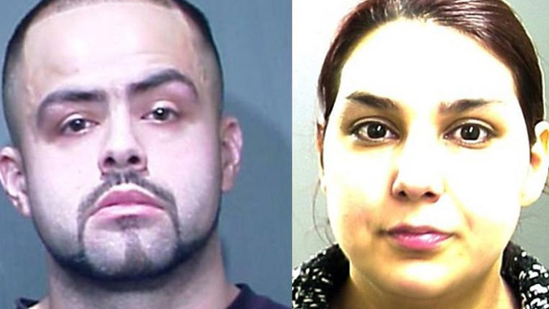 November 27, 2011: This photo shows Cesar Ruiz and Crystal Valdez, who are accused in the murder of Valdez's son Christopher, who was killed on his fourth birthday.