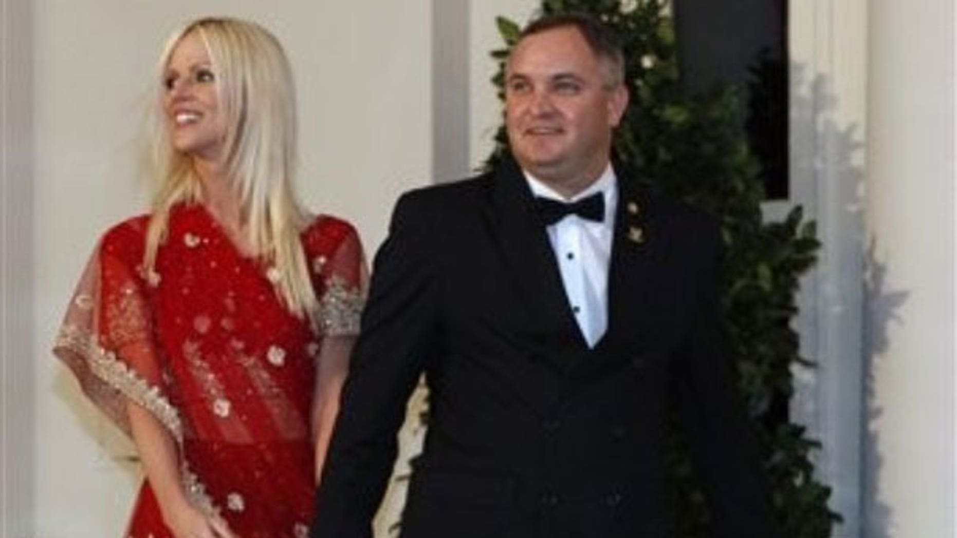 Nov. 24: Michaele and Tareq Salahi arrive at a State Dinner hosted by President Obama for Indian Prime Minister Manmohan Singh at the White House in Washington (AP).