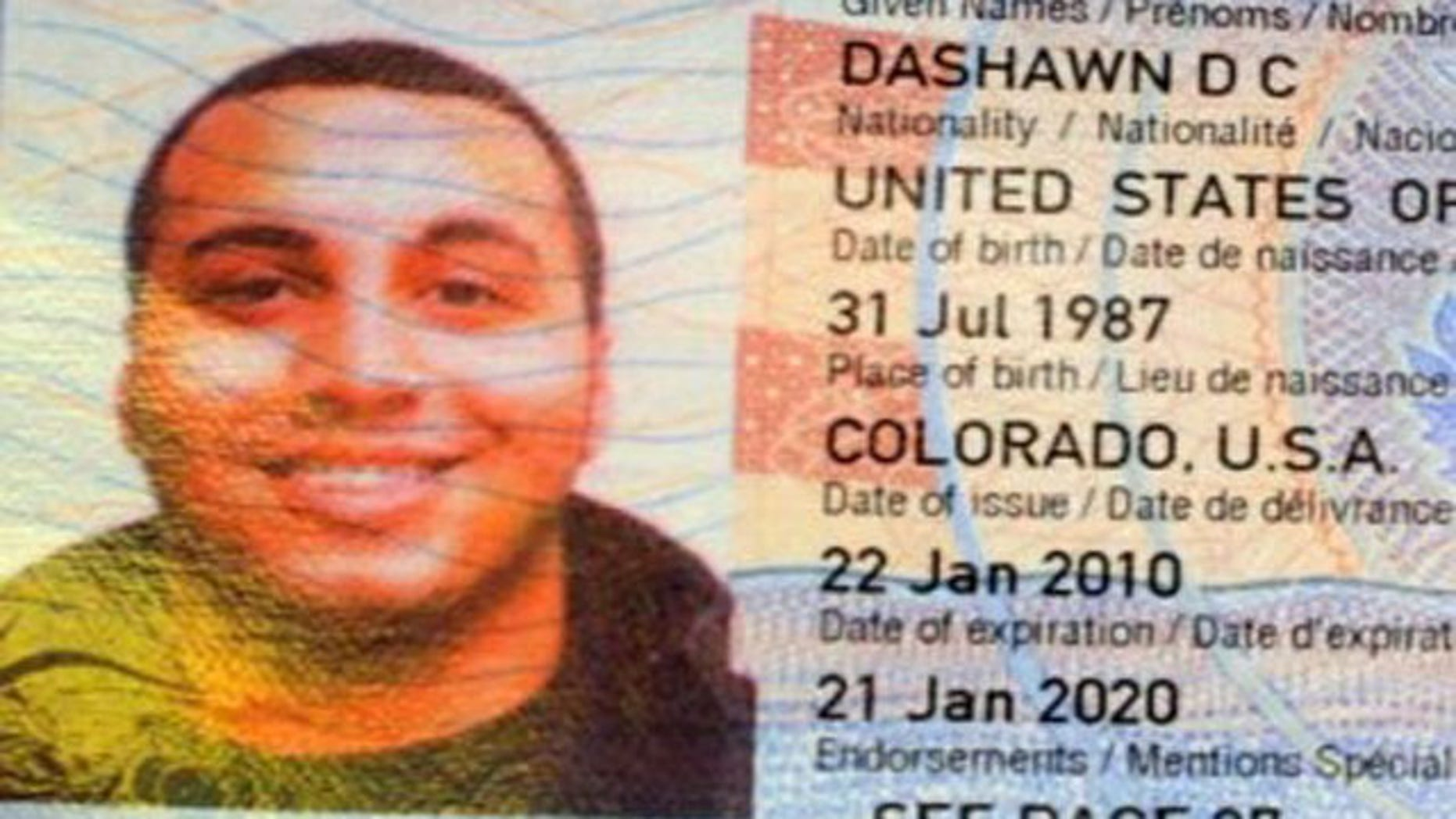 The body of 23-year-old Dashawn Longfellow, a former U.S. marine, was found at the Yanui Paradise Resort with several stab wounds in his chest.