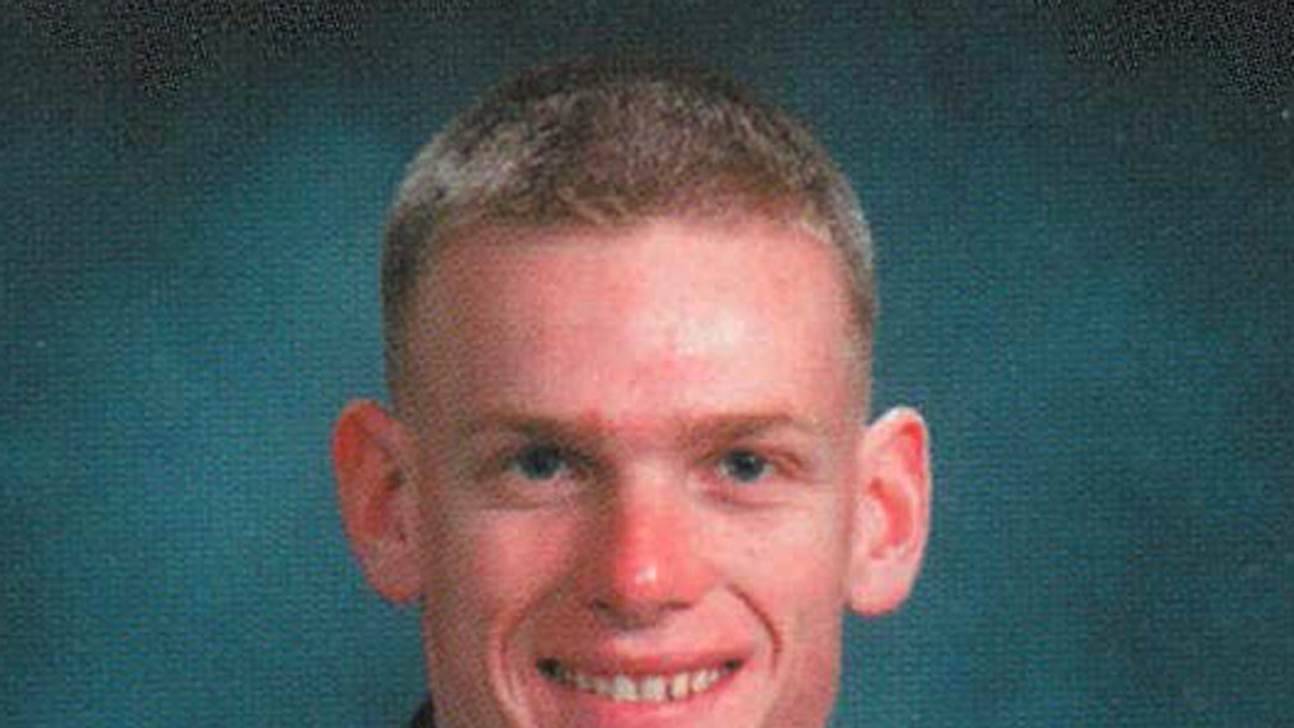 This 2003 photo released by the U.S. Air Force Academy shows Capt. Lucas Gruenther. The U.S. Air Force has identified Gruenther as the pilot of an F-16 fighter jet that went missing Monday, Jan. 28, 2013 on a training mission over the Adriatic Sea. (AP Photo/U.S. Air Force Academy)