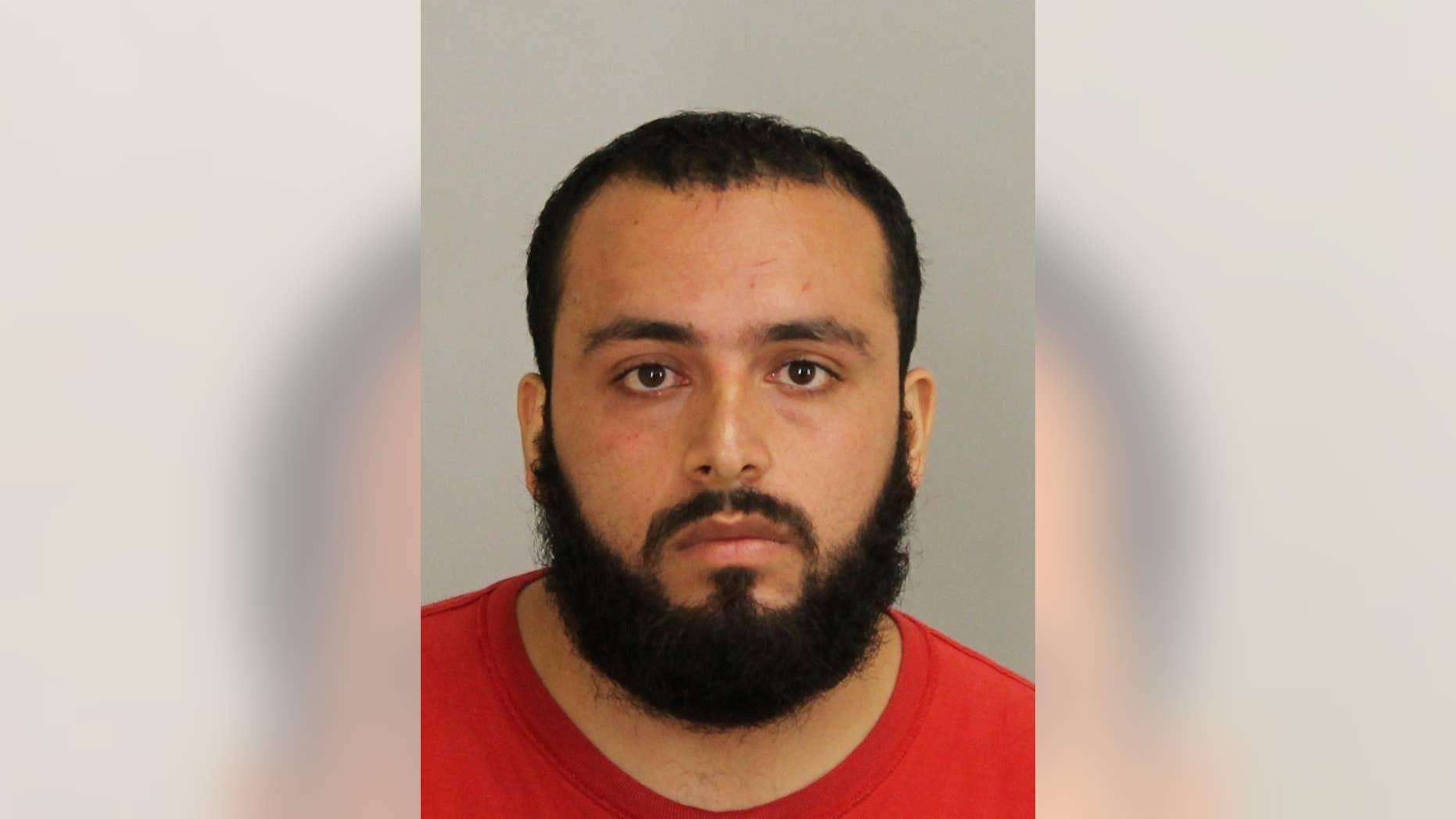 This September 2016 file photo provided by Union County Prosecutor's Office shows Ahmad Khan Rahimi.