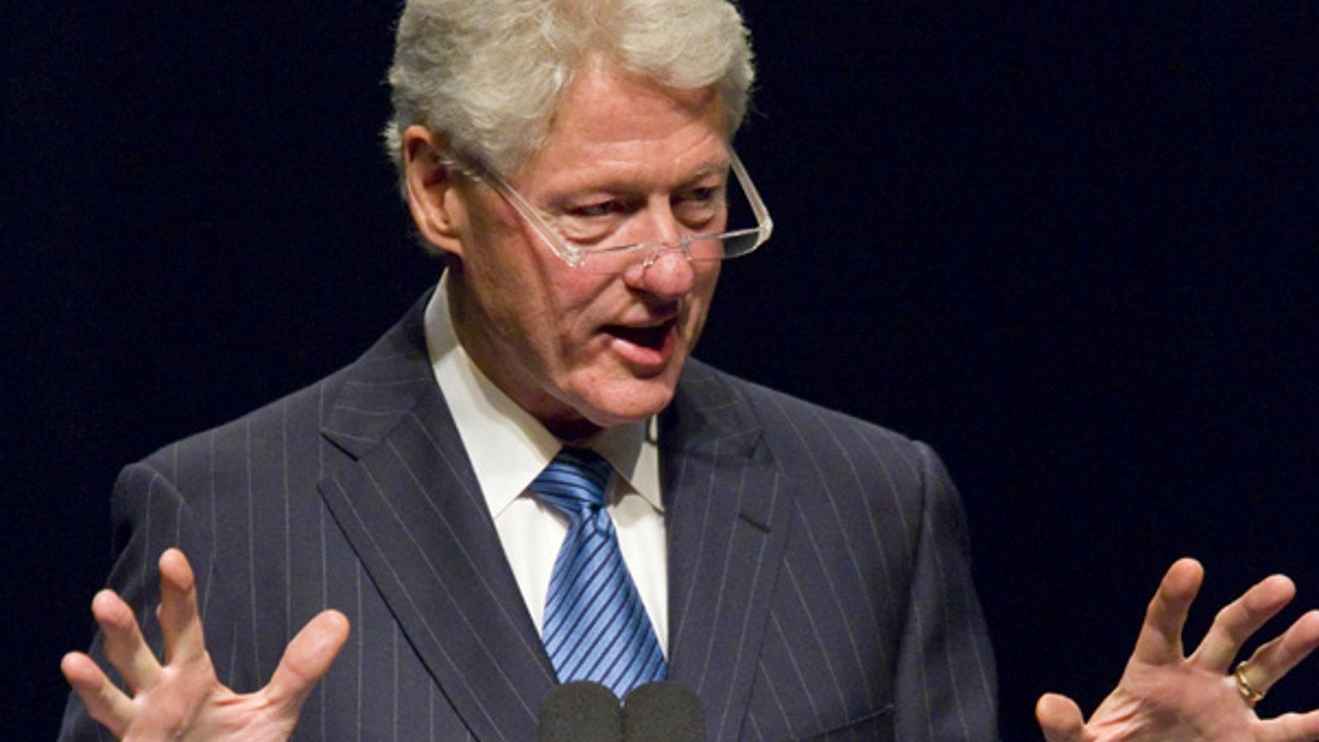 Nov. 30: Former President Bill Clinton speaks in Greensboro, N.C.