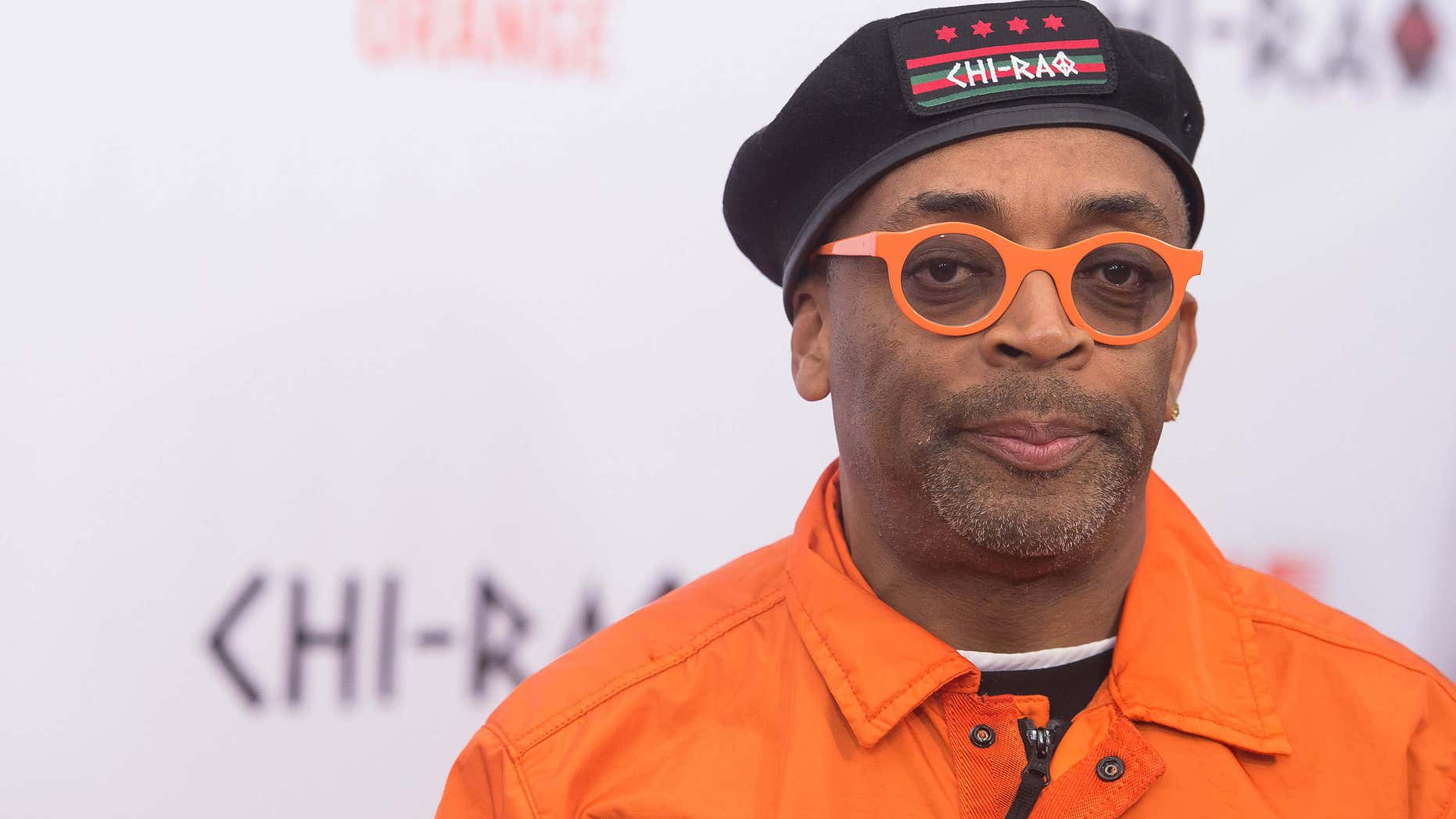 """Dec. 1, 2015: Spike Lee attends the premiere of """"Chi-Raq"""" at the Ziegfeld Theatre on in New York."""