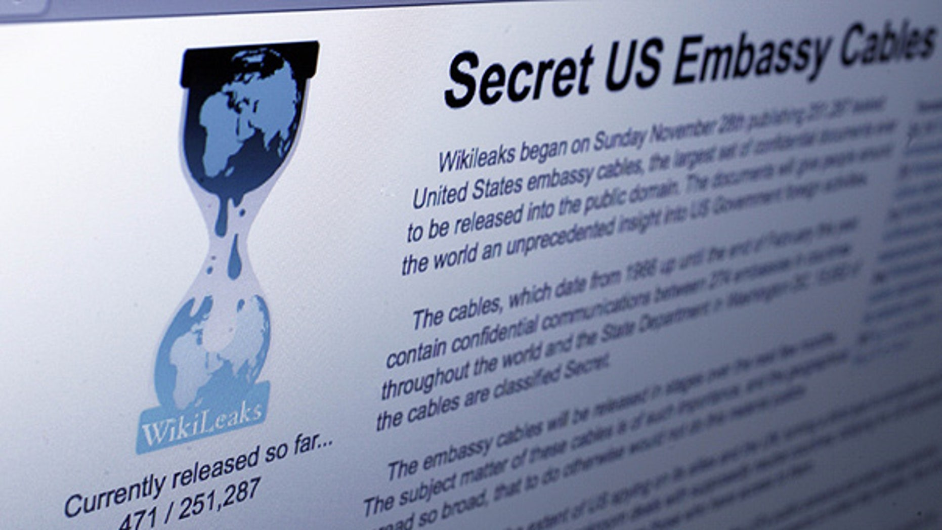 WikiLeaks.org was taken offline by its domain name provider on Dec. 3 after becoming the target of 'mulitple' attacks.