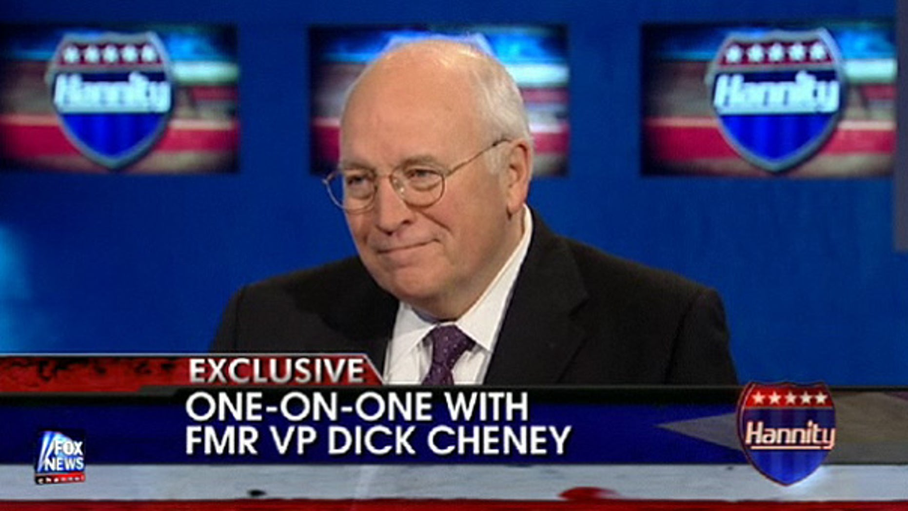 Dec. 8: Former Vice President Dick Cheney appears on 'Hannity.' (FNC)