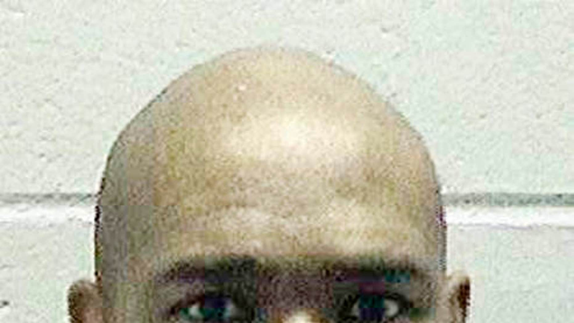 FILE - This undated file photo released by the Georgia Department of Corrections shows Brian Keith Terrell.