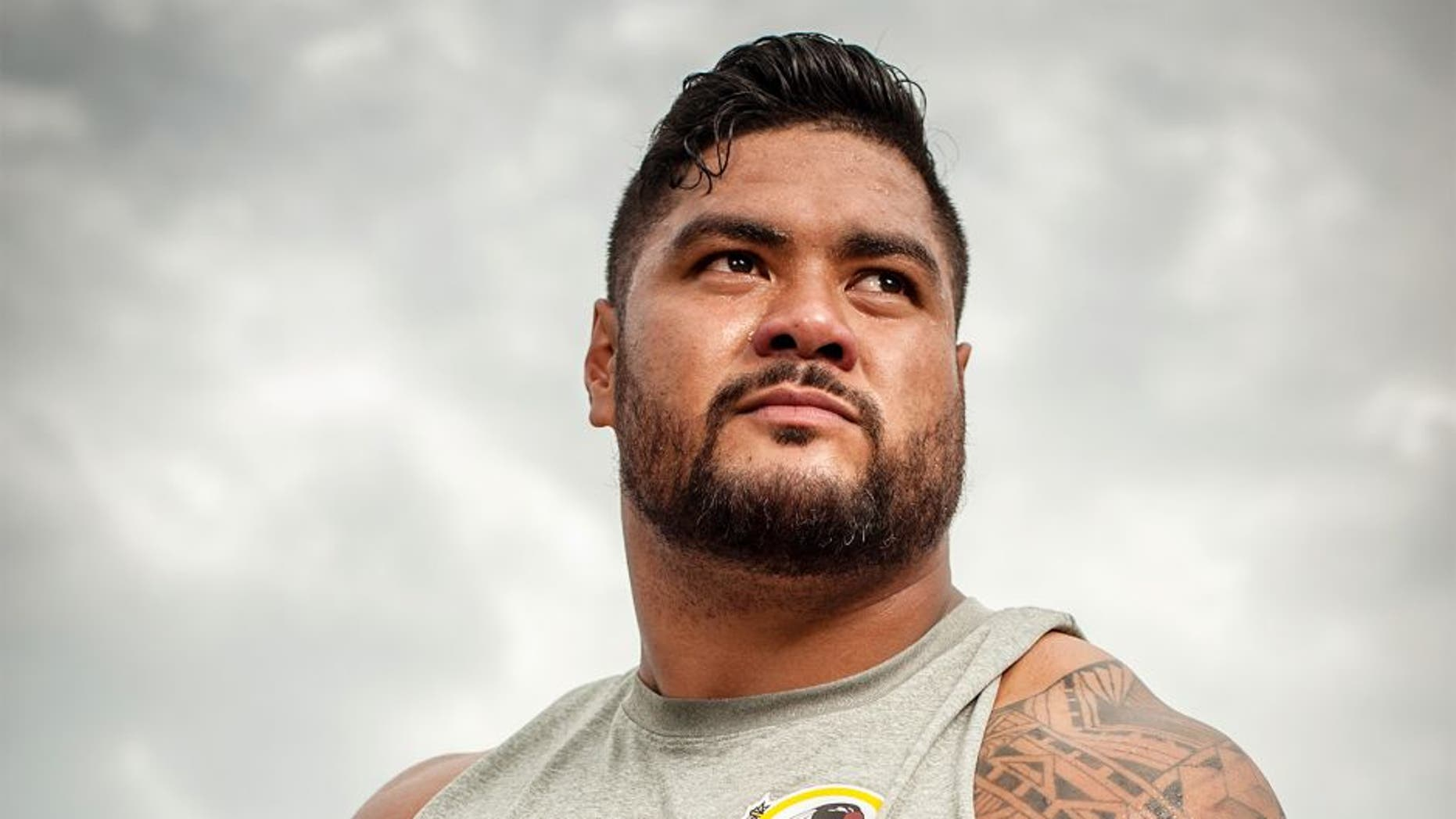 ASHBURN, VA -- AUGUST 09: Stephen Paea, Redskins Defensive End for Just Asking Profile. (photo by Andre Chung for The Washington Post via Getty Images)