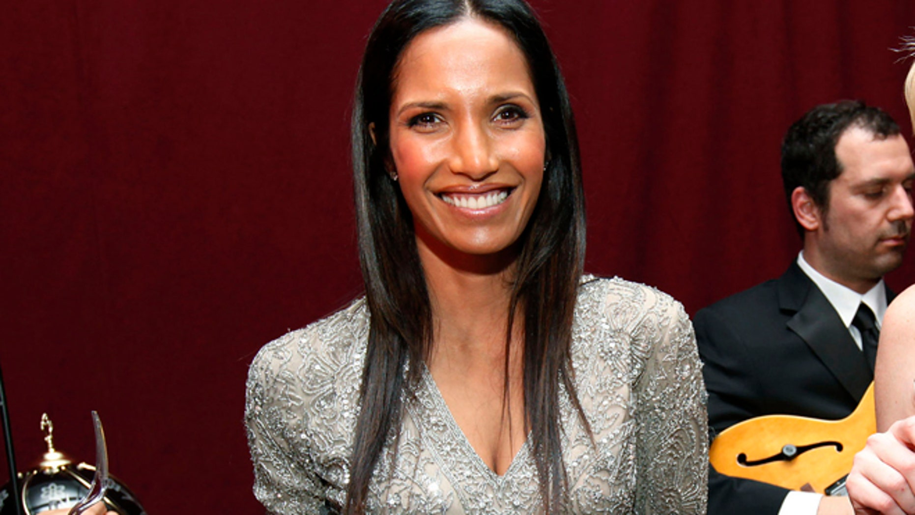 IMAGE DISTRIBUTED FOR STERLING VINEYARDS - Host Padma Lakshmi, left, and blogger Tori Tait attend the Sterling Ultimate Host finale event at Location05 on December 5, 2012 in New York City. (Amy Sussman/AP Images for Sterling Vineyards)
