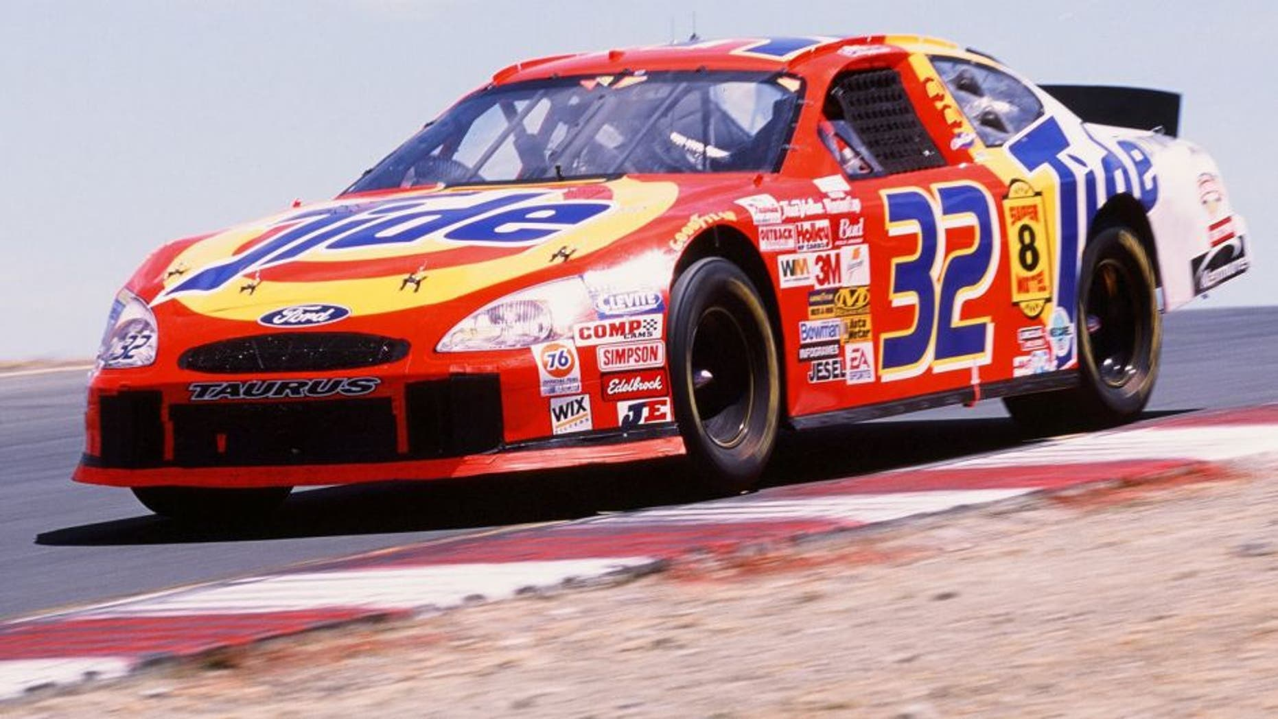 USA - JUNE 23: Ricky Craven drives during the Dodge SaveMart 350 on June 23, 2002. (Photo by Sporting News via Getty Images)