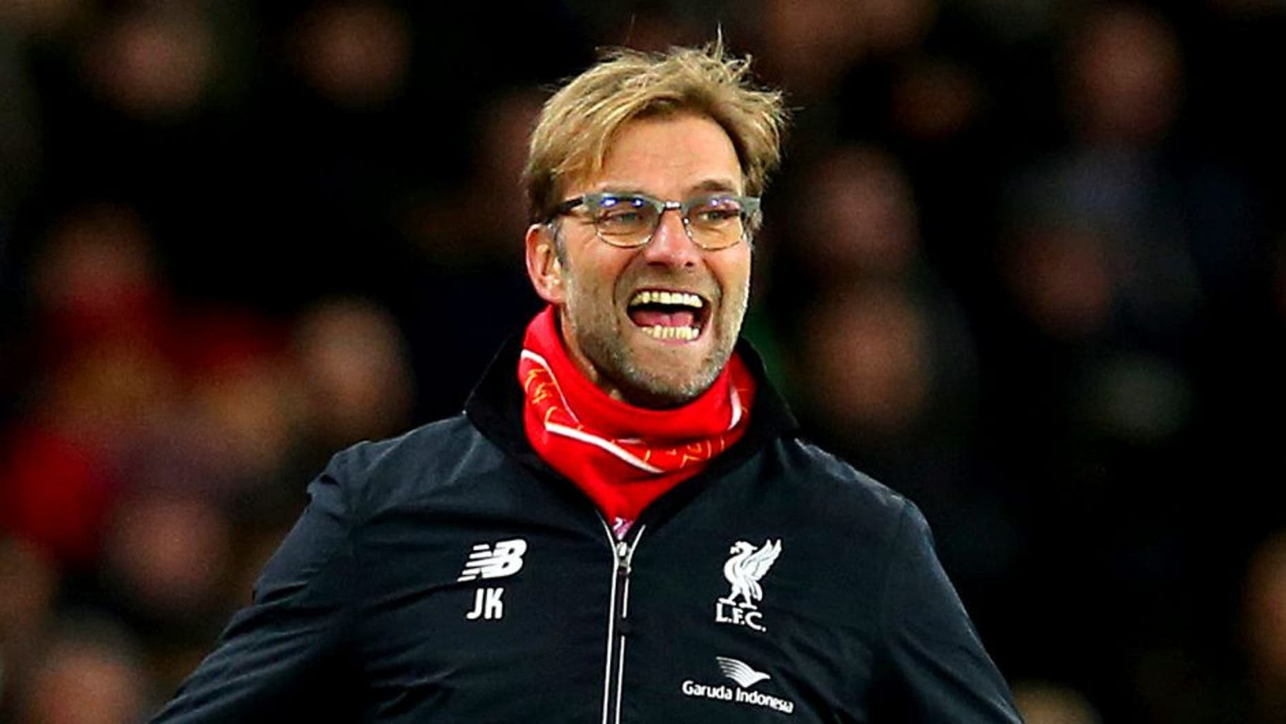 SUNDERLAND, ENGLAND - DECEMBER 30: Jurgen Klopp, manager of Liverpool reacts during the Barclays Premier League match between Sunderland and Liverpool at Stadium of Light on December 30, 2015 in Sunderland, England. (Photo by Ian MacNicol/Getty Images)