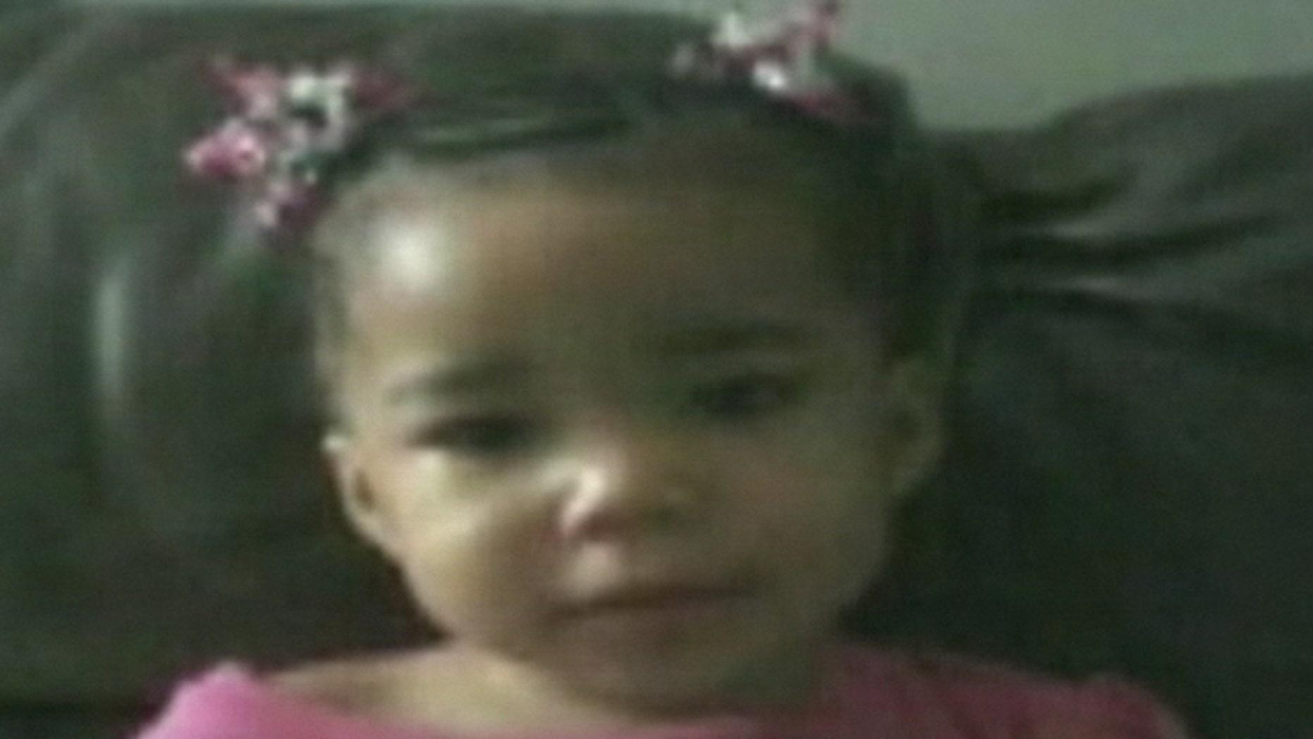 December 3, 2011: This photo shows missing toddler Bianca Jones.