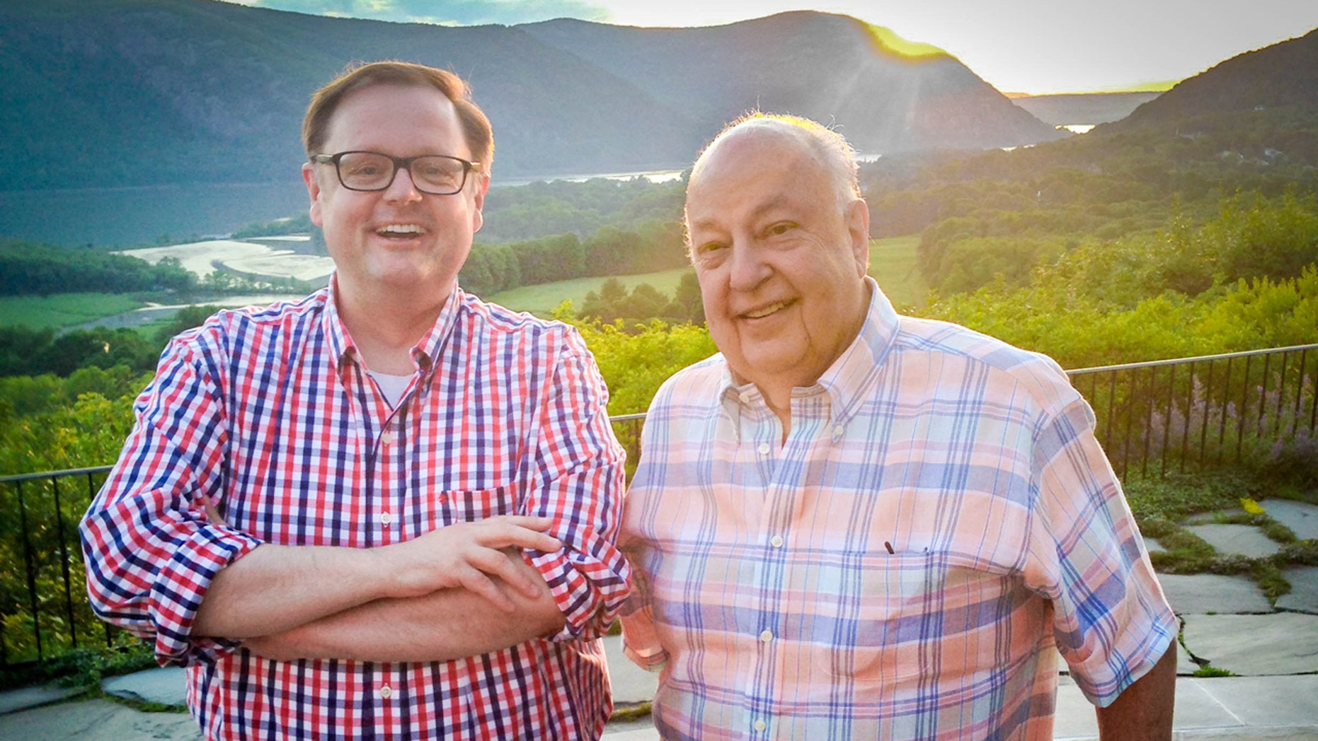 Todd Starnes and Roger Ailes