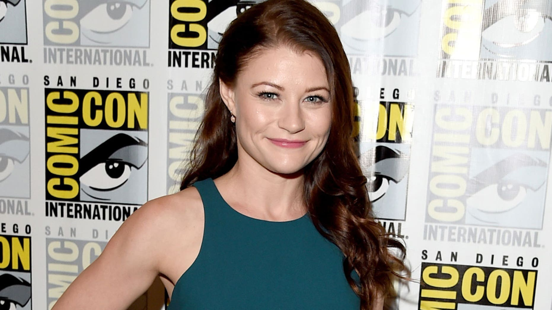 "SAN DIEGO, CA - JULY 11:  Actress Emilie de Ravin attends the ""Once Upon A Time"" press room during Comic-Con International 2015 at the Hilton Bayfront on July 11, 2015 in San Diego, California.  (Photo by Jason Merritt/Getty Images)"