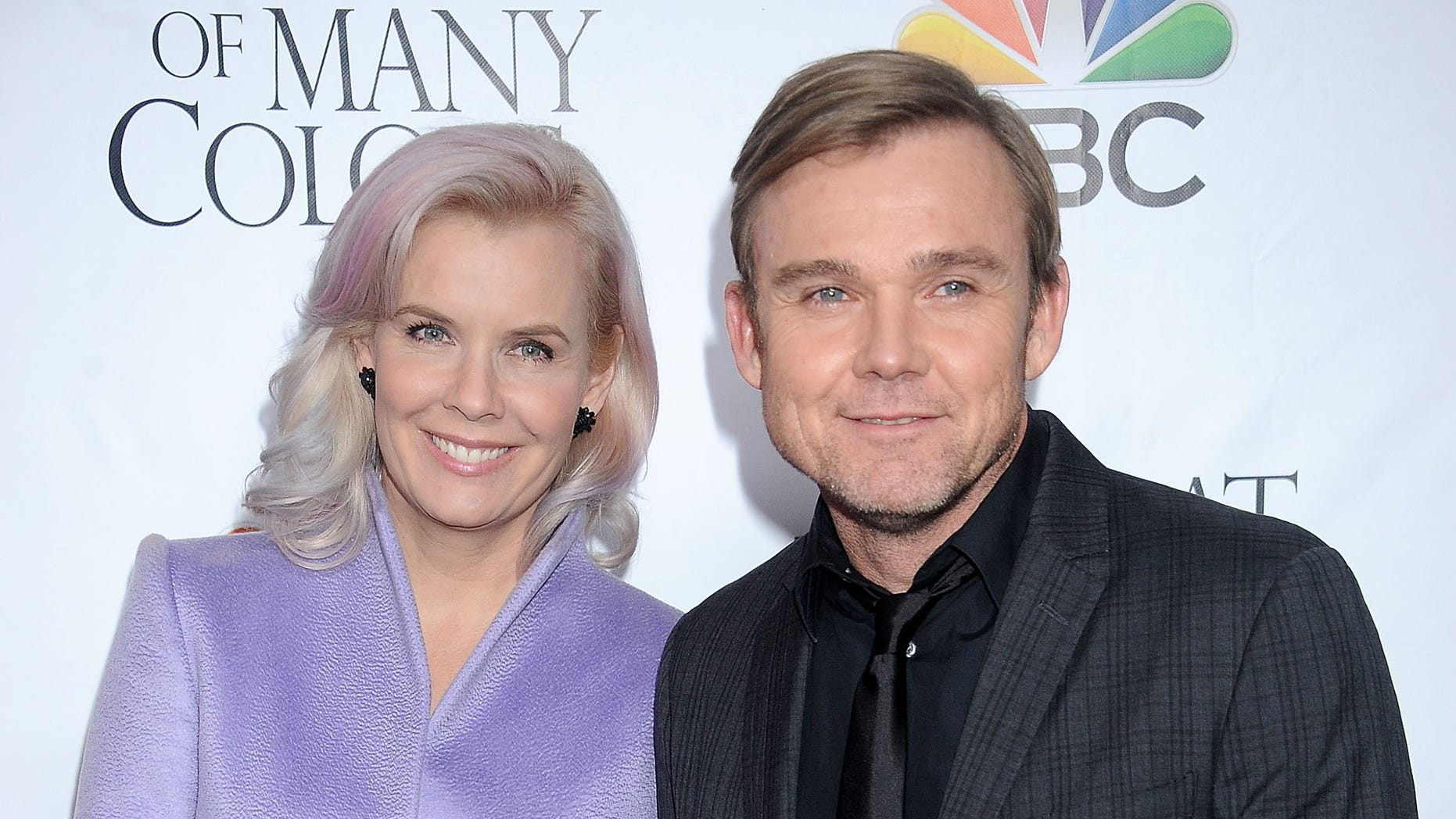 """HOLLYWOOD, CA - DECEMBER 02: Actor Ricky Schroder and wife Andrea Bernard Schroder arrive at the premiere of Warner Bros. Television's """"Dolly Parton's Coat Of Many Colors"""" at the Egyptian Theatre on December 2, 2015 in Hollywood, California.  (Photo by Gregg DeGuire/WireImage)"""