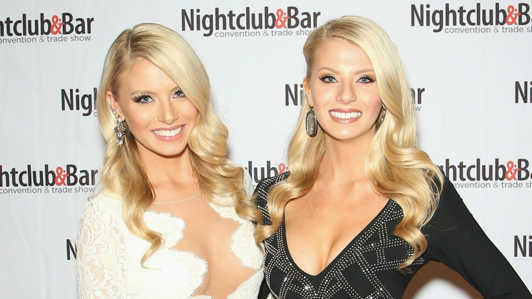 LAS VEGAS, NV - MARCH 08:  Television personalities Emily Ferguson (L) and Haley Ferguson attend the 31st annual Nightclub & Bar Convention and Trade Show on March 8, 2016 in Las Vegas, Nevada.  (Photo by Gabe Ginsberg/Getty Images for Nightclub & Bar Media Group)