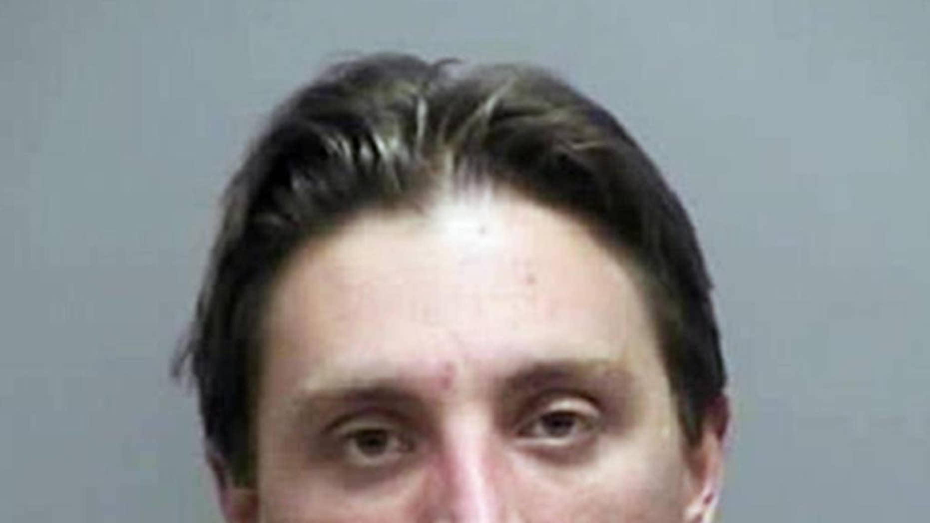 FILE - This undated file photo provided by the Rock County Sheriff's Office in Janesville, Wis., shows Joseph Jakubowski.  The Rock County Sheriff's Office says Jakubowski was captured around 6 a.m. Friday, April 14, 2017, near Readstown, Wis. The sheriff's office said in a statement that he was captured without incident.  (Rock County Sheriff's Office via AP, File)