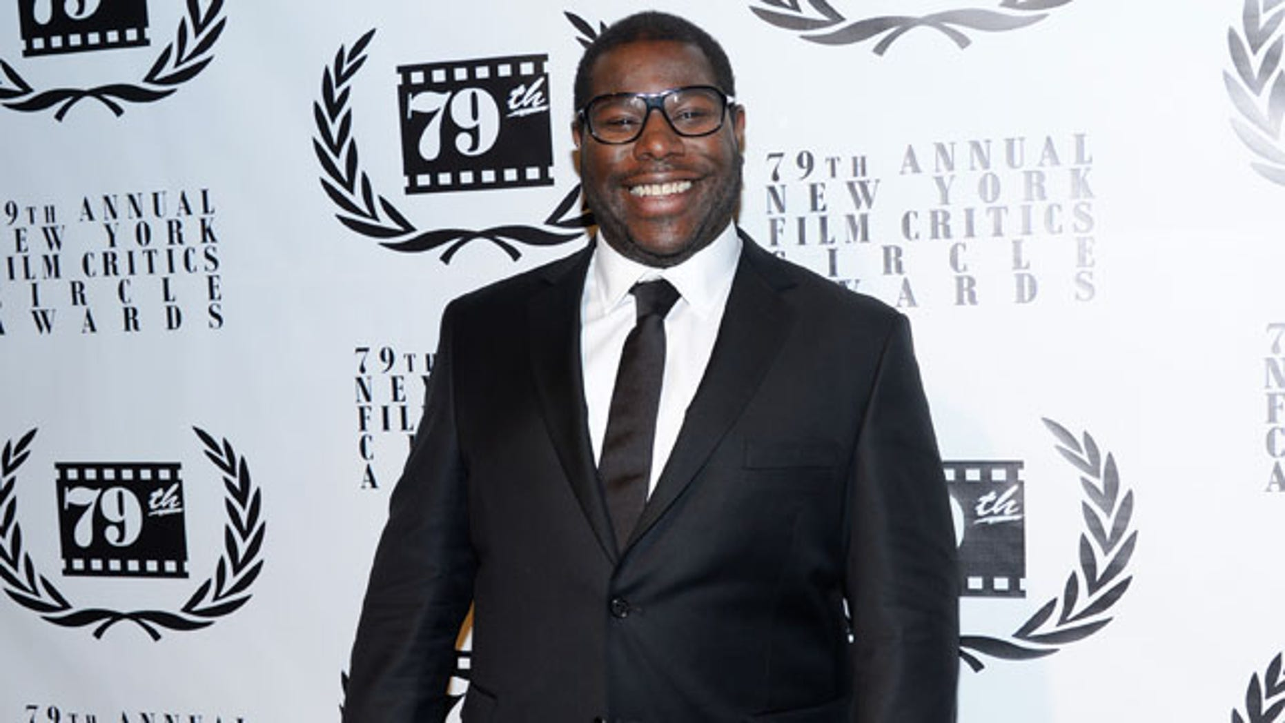 January 6, 2014: Best Director winner Steve McQueen attends the 79th Annual New York Film Critics Circle Awards at the Edison Ballroom in New York. (Photo by Evan Agostini/Invision/AP)
