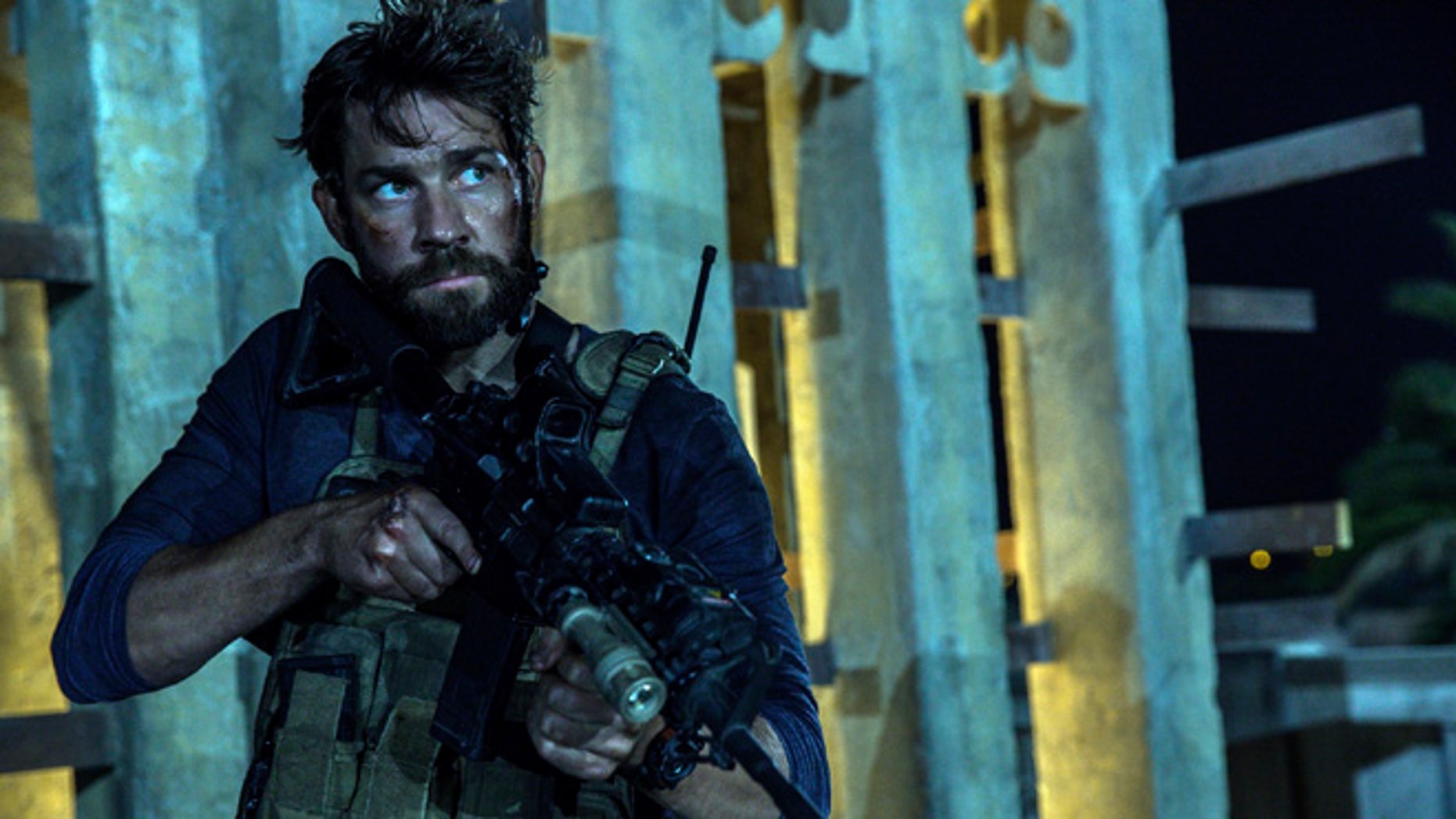 A scene from '13 Hours: The Secret Soldiers of Benghazi.' The Academy has revoked the sound mixer's Oscar nomination from the film.