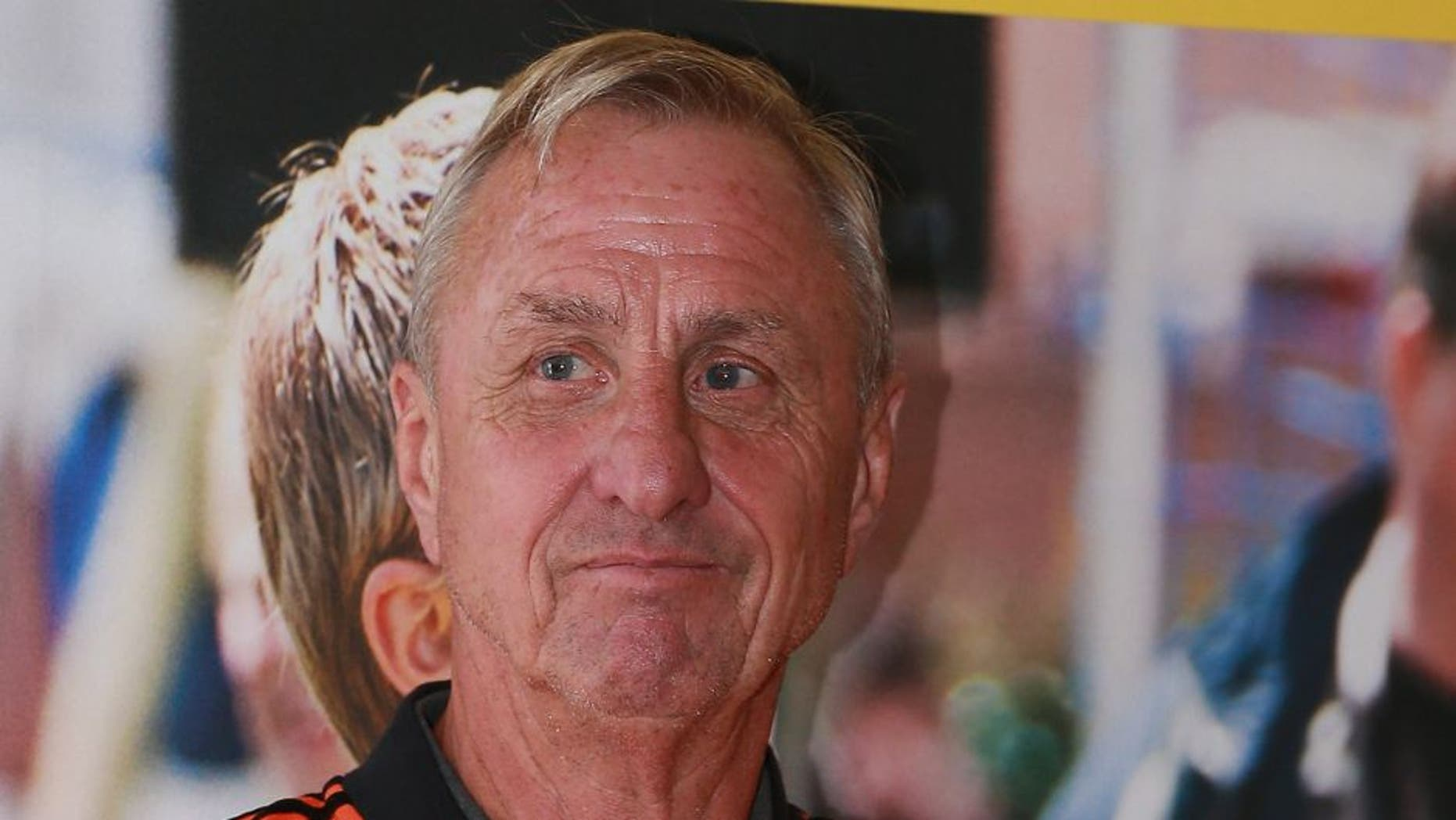 open dag van Johan Cruijff foundation Johan Cruijff during the Open day of the Johan Cruyff foundation on September 23, 2015 at the Olympic stadium in Amsterdam, The Netherlands.(Photo by VI Images via Getty Images)