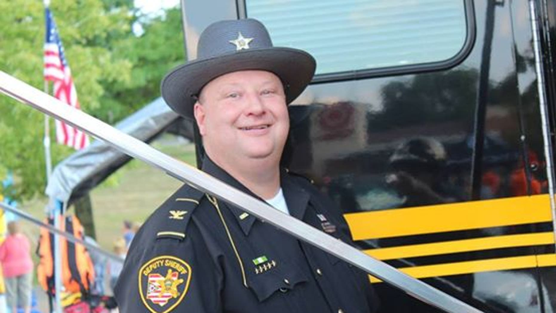 Chief Deputy John Campbell in an undated photo.
