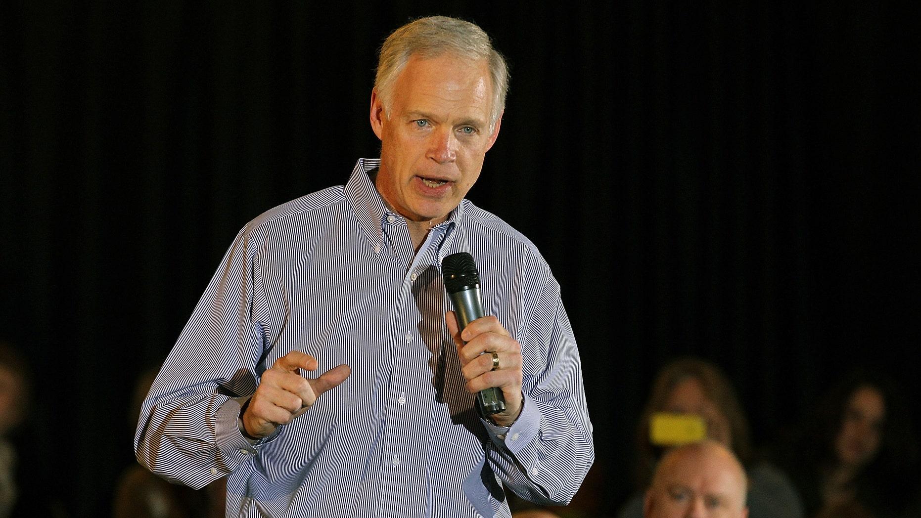 U.S. Sen. Ron Johnson (R-WI) in an April 2012 file photo.