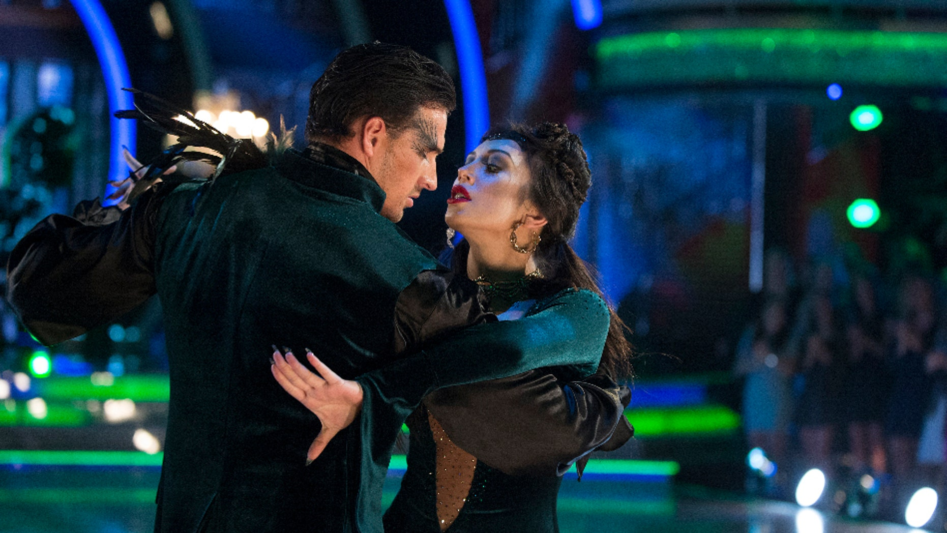 DANCING WITH THE STARS - âEpisode 2308â - âDancing with the Starsâ treats viewers to a frightfully delightful night filled with chilling performances on MONDAY, OCTOBER 31 (8:00-10:01 p.m. EDT). (ABC/Eric McCandless)RYAN LOCHTE, CHERYL BURKE