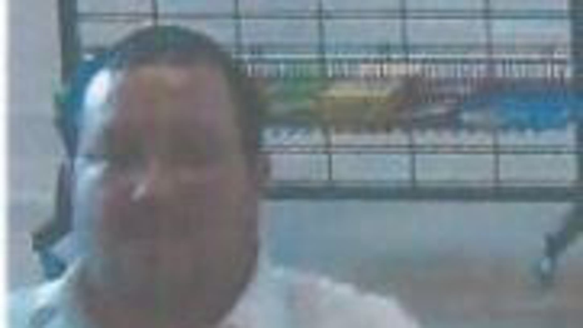 This unidentified man is accused of pleasuring himself at a movie theater in Howell, N.J.