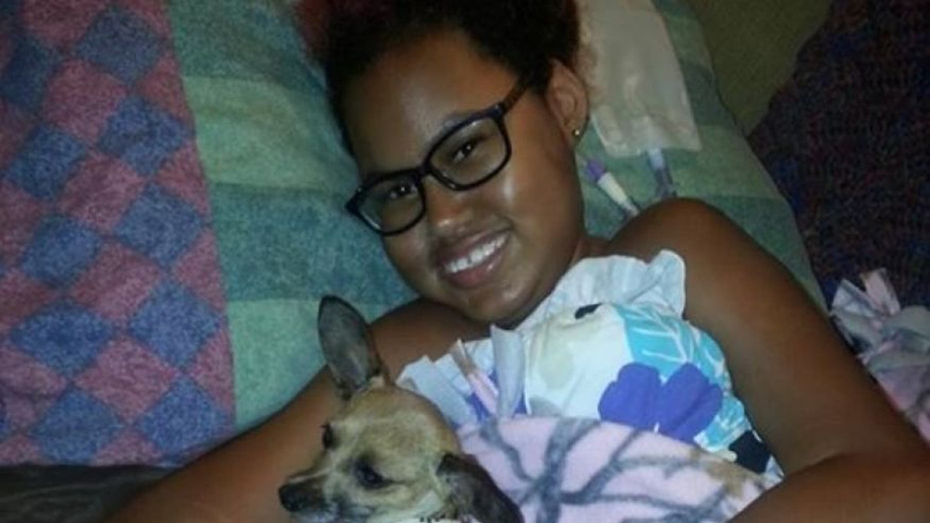Jerika Bolen, 14, decided to enter hospice rather than undergo more surgery.