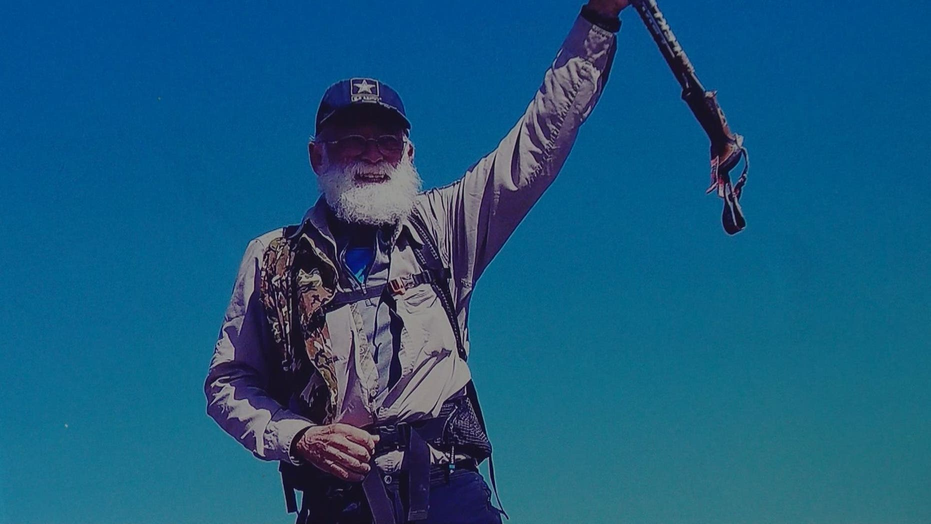 Tom Young, 75, completed his five-month hike on the Appalachian Trail Monday.