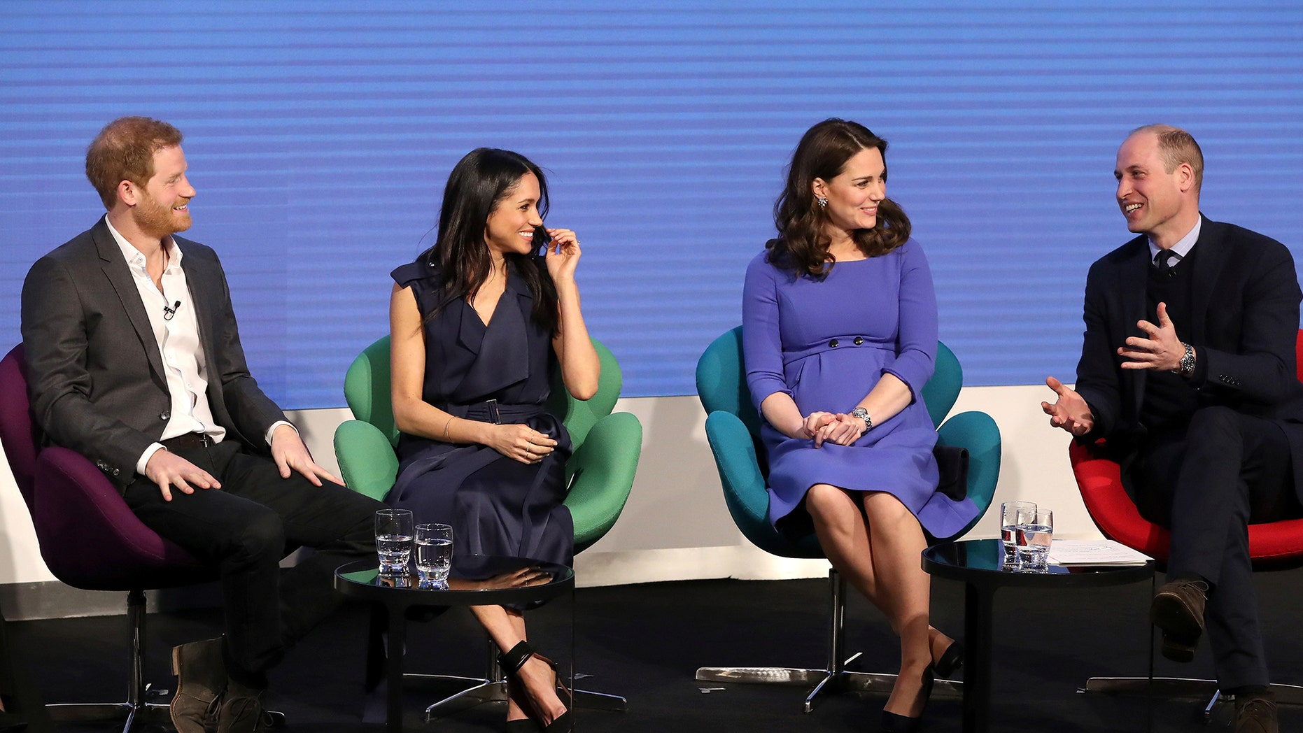 Prince Harry, Meghan Markle, Kate Middleton and Prince William