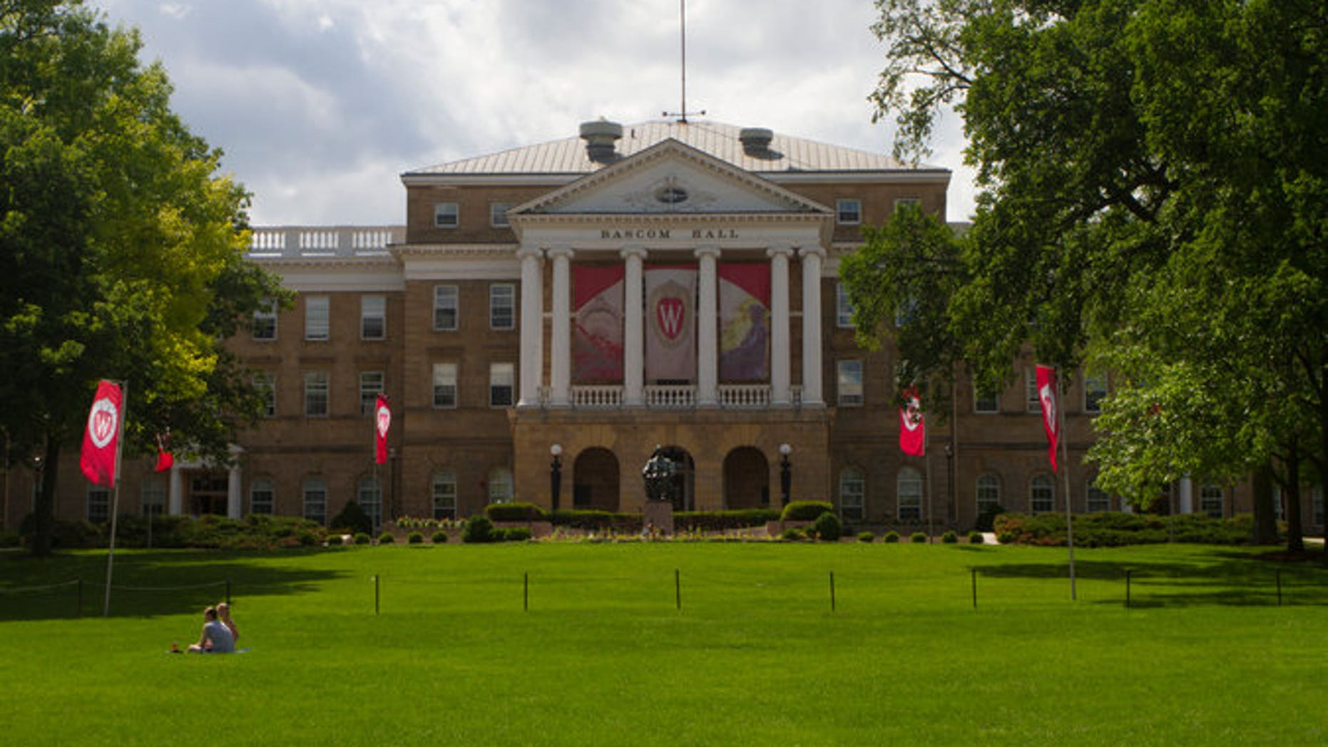 The campus of the University of Wisconsin-Madison in 2014.