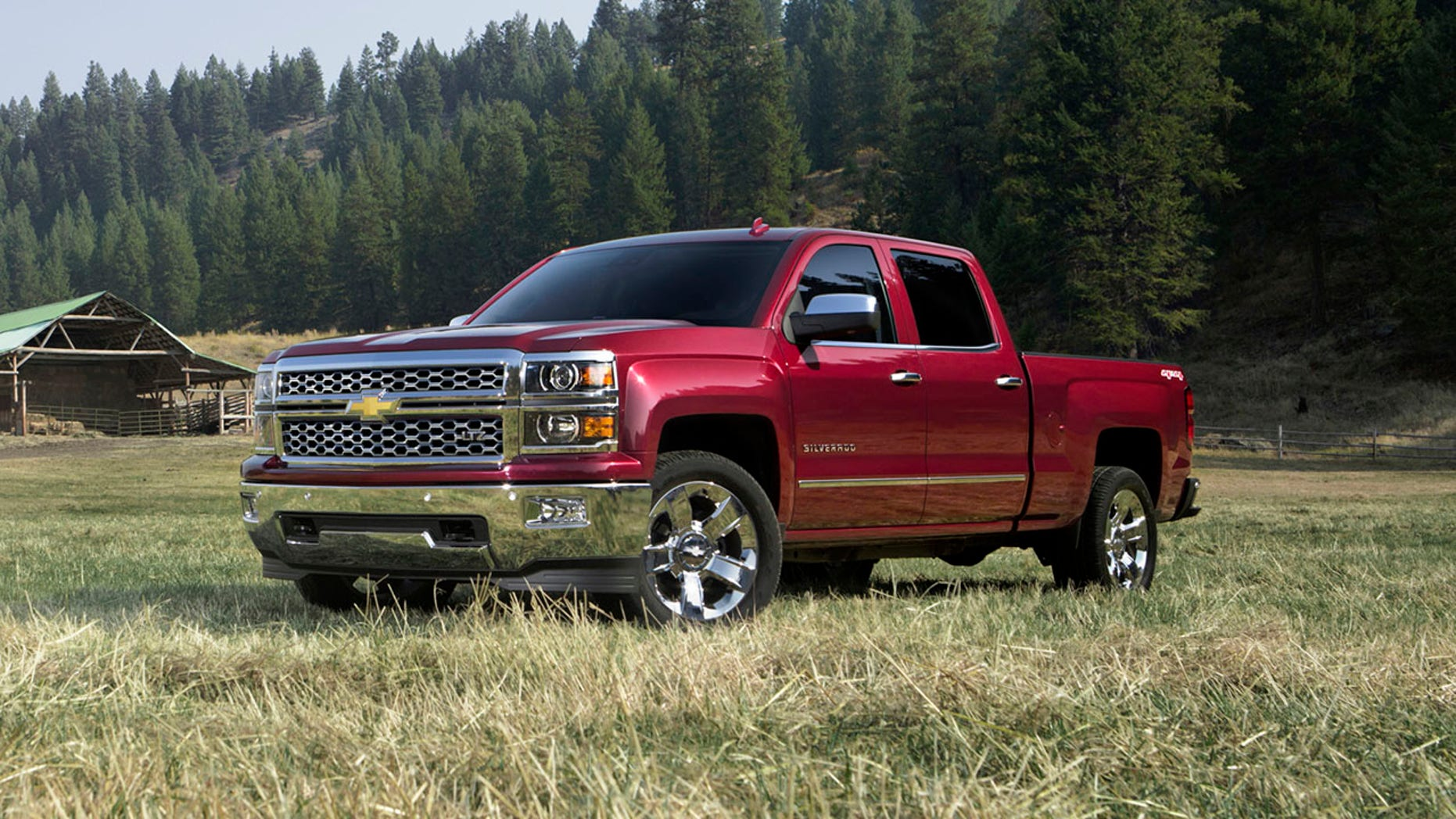 The Chevrolet Silverado is among the recalled trucks.