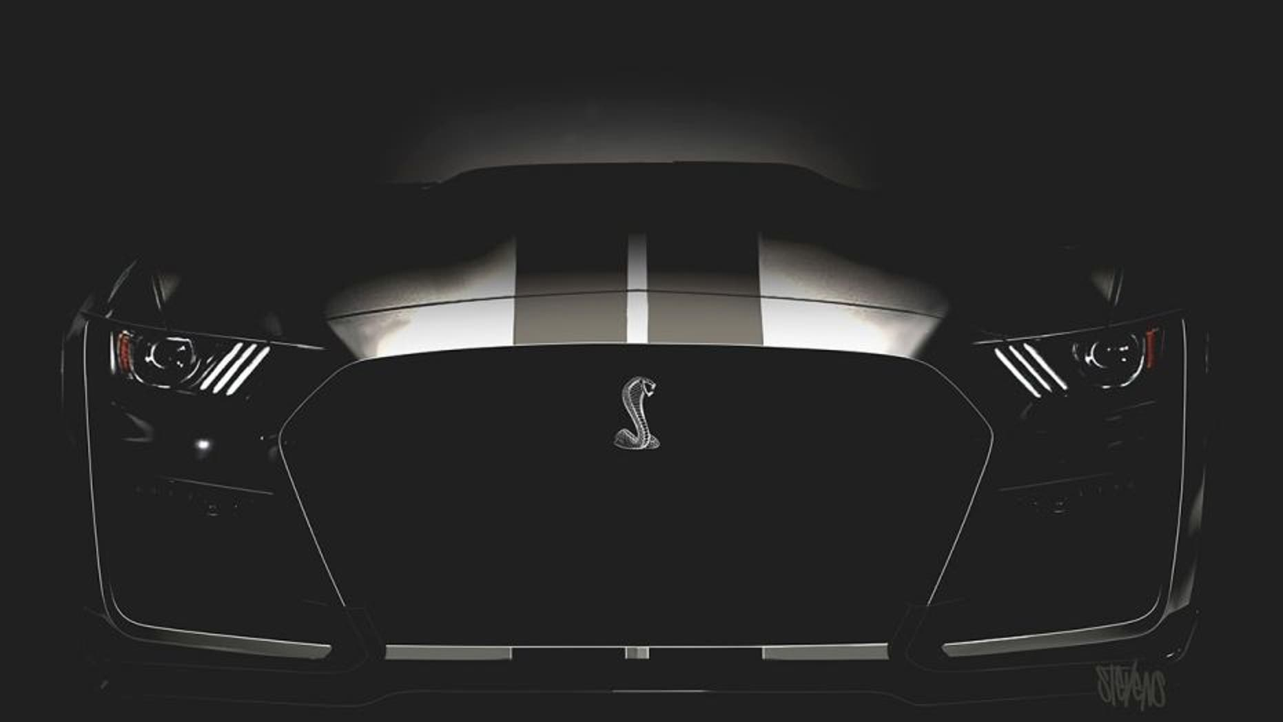 The 2019 Mustang Shelby Gt500 Will Be Most Ful Version Of Cur Generation