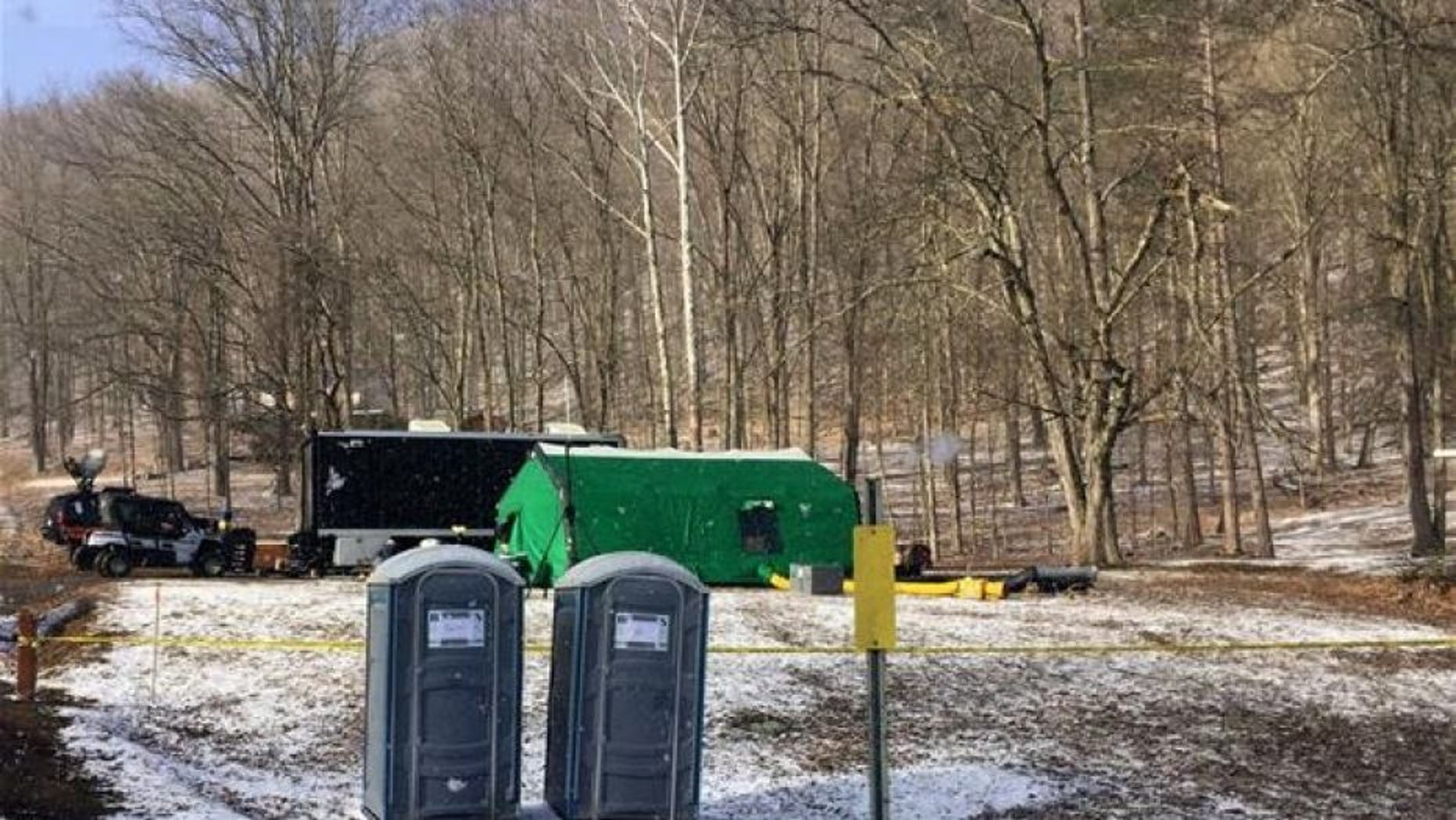 The FBI has come out empty handed at the remote Pennsylvania site where Civil War-era gold treasure is rumored to be buried.