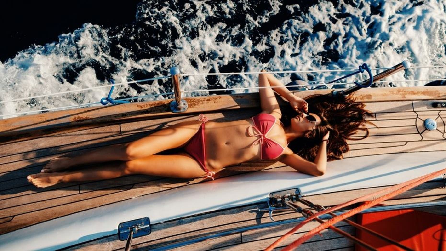 Life on the high seas is not all fun and games, staffers say.