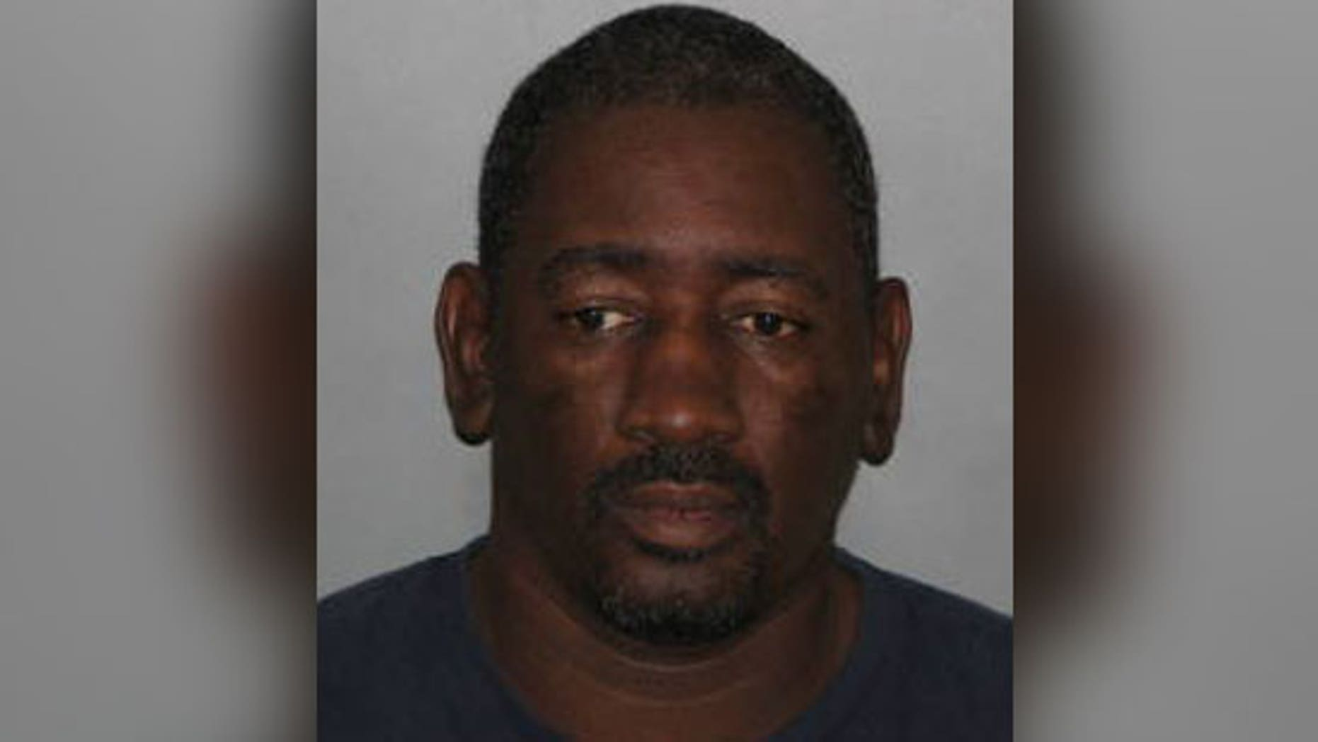 Donald Crump allegedly choked a customer when she complained about her cold fries.