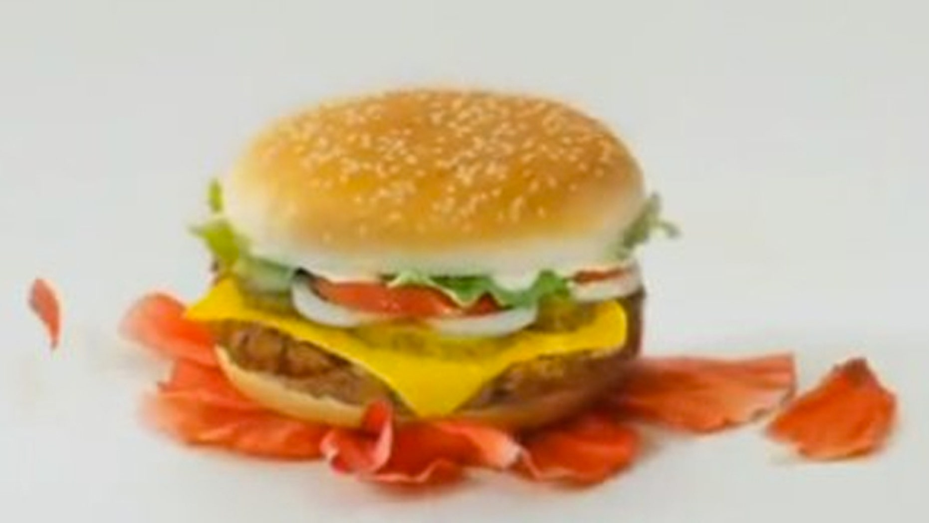 The controversial ad shows a Whopper smashing a poppy flower.