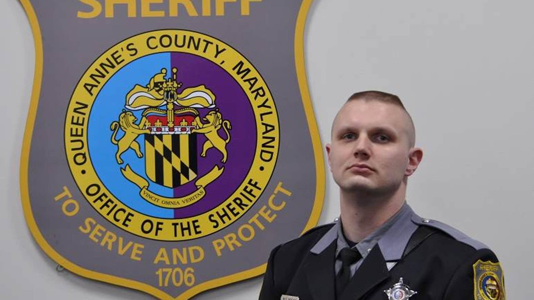 Dfc. Warren Scott Hogan was in critical condition on Thursday.