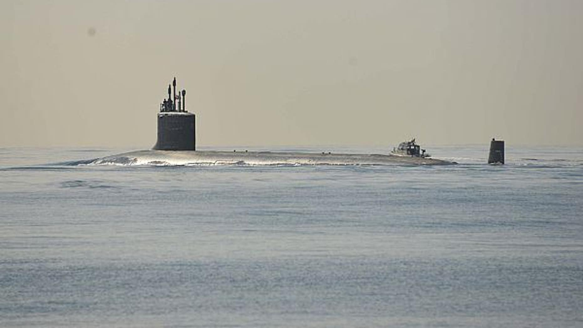 150113-N-DB801-066 PEARL HARBOR (Jan. 13, 2015) The Virginia-class attack submarine USS North Carolina (SSN 777) is underway conducting routine operations. (U.S. Navy photo by Mass Communication Specialist 1st Class Steven Khor/Released)