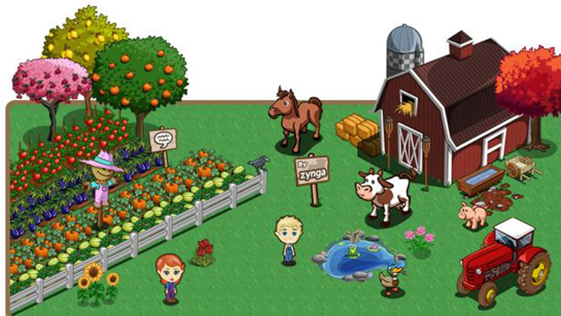 "Since its launch in 2009, a cartoonish simulation that melds ""Leave it to Beaver"" and ""Green Acres"" has become a Facebook phenomenon, luring in everyone from urbanites to actual farmers."