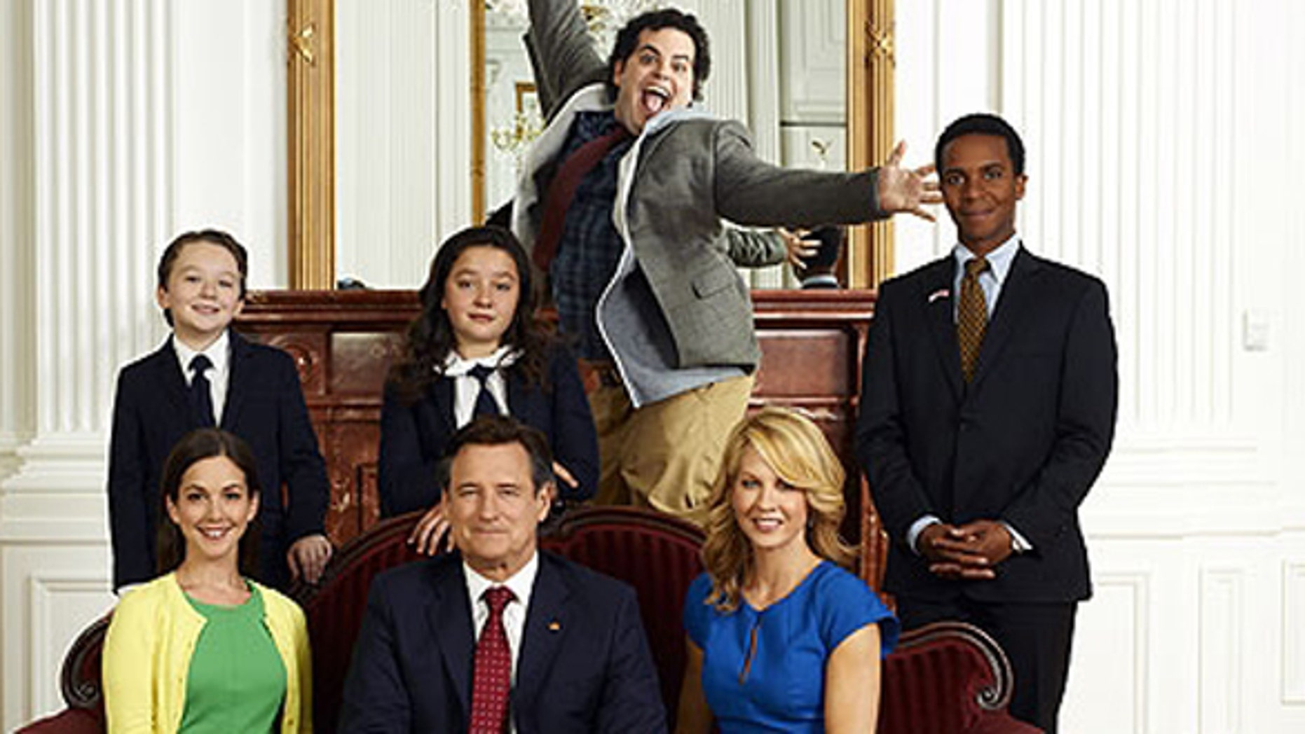 """The cast from """"1600 Penn."""""""